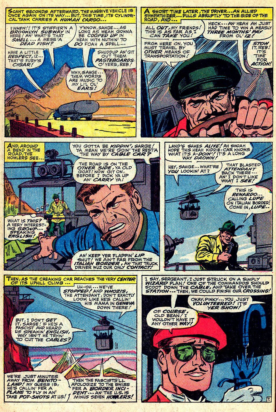 Read online Sgt. Fury comic -  Issue #36 - 10