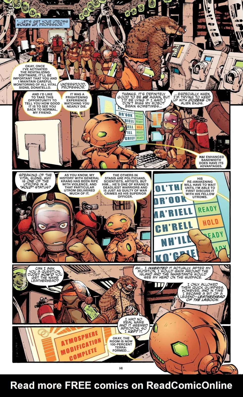 Read online Teenage Mutant Ninja Turtles: The IDW Collection comic -  Issue # TPB 7 (Part 2) - 37