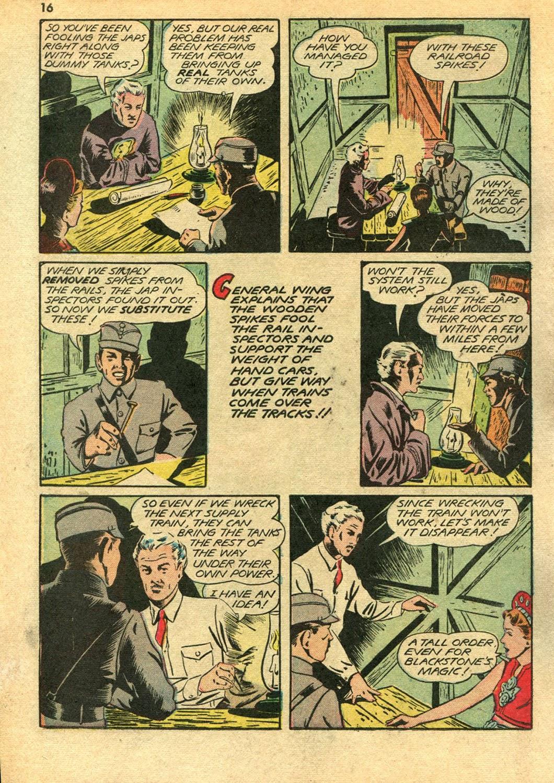 Read online Super-Magician Comics comic -  Issue #14 - 16