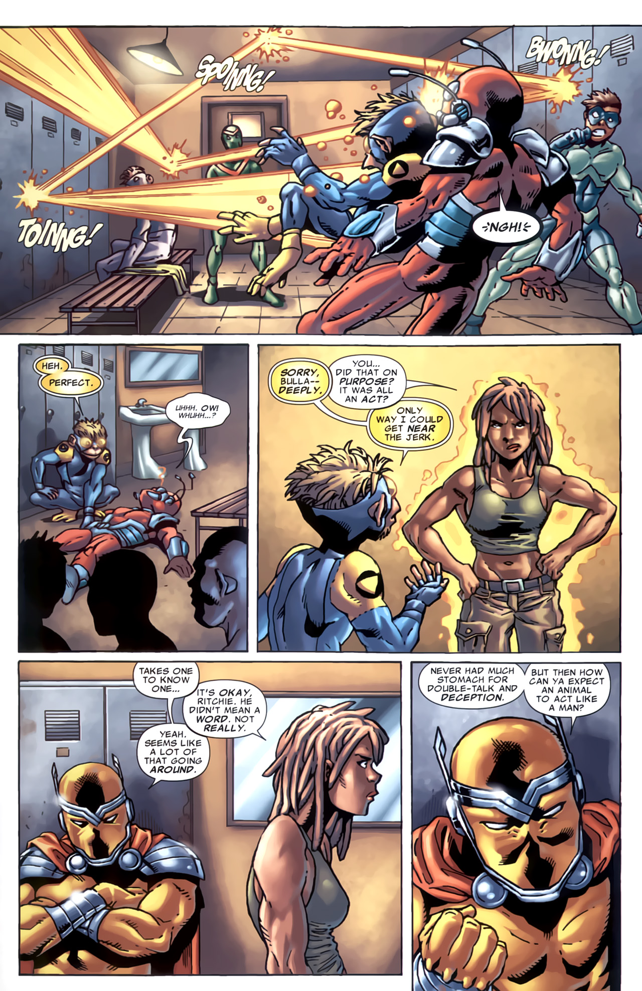 Read online Marvel Apes: Speedball Special comic -  Issue # Full - 10