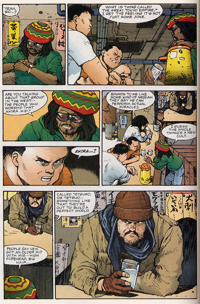 Read online Akira comic -  Issue #17 - 37