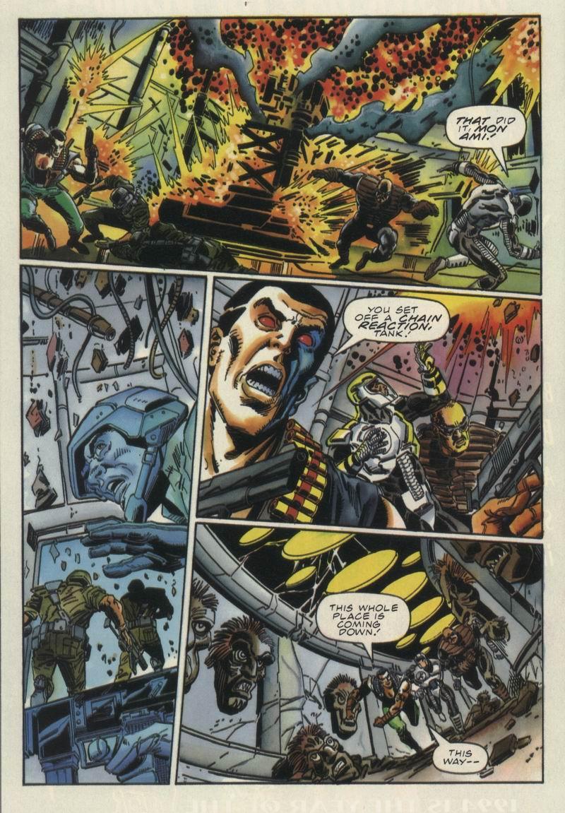 Read online Secret Weapons comic -  Issue #12 - 21