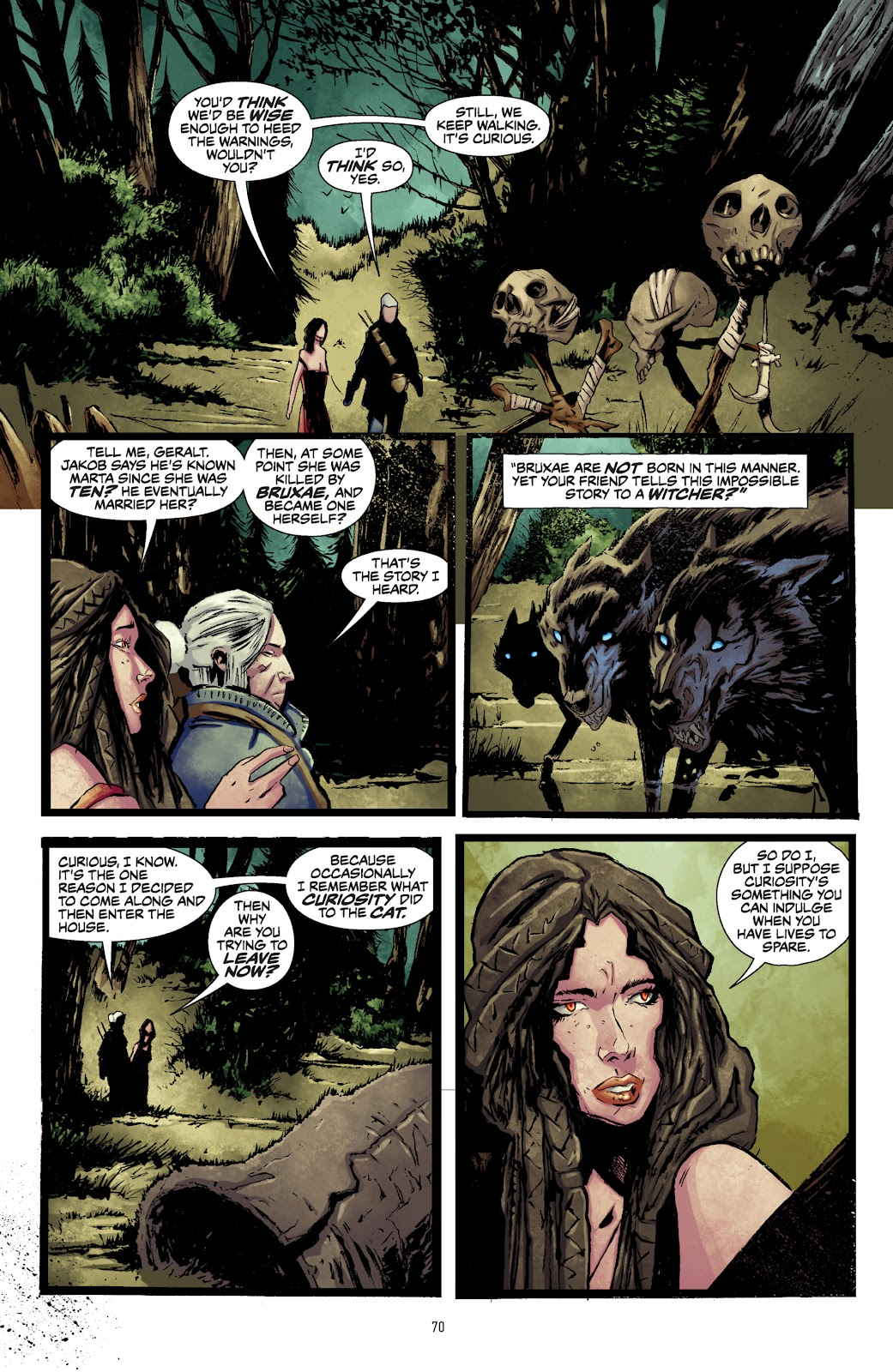 Read online The Witcher Omnibus comic -  Issue # TPB (Part 1) - 69