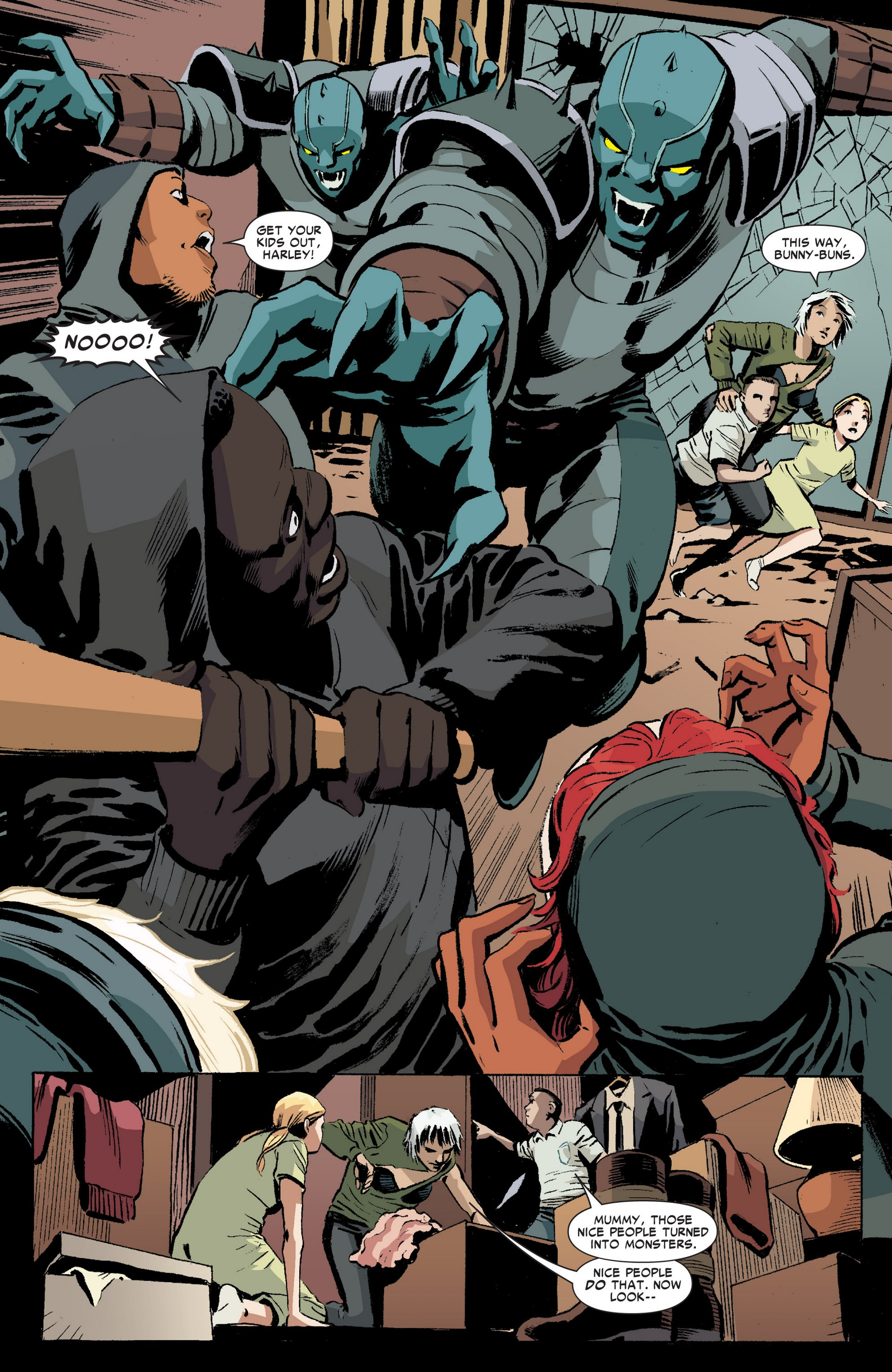 Read online Revolutionary War: Motormouth comic -  Issue # Full - 12