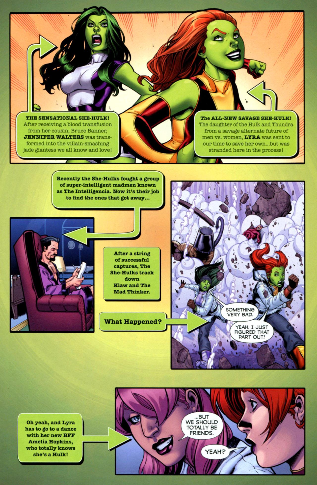 Read online She-Hulks comic -  Issue #4 - 2