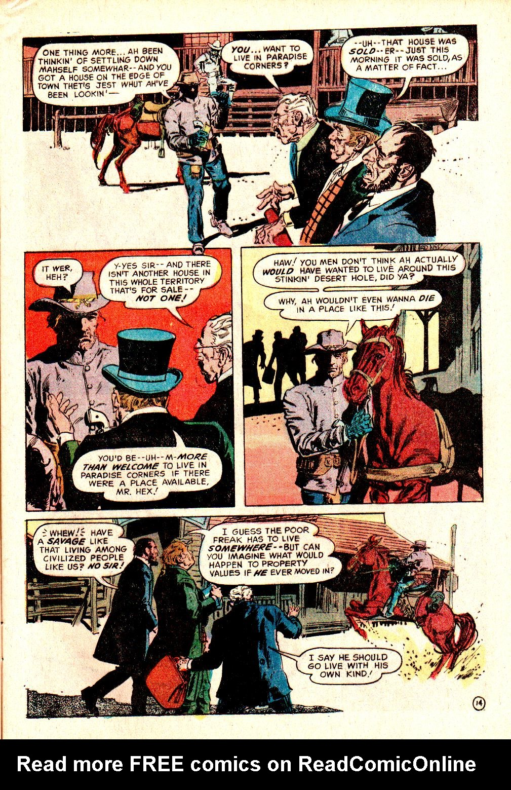 Read online All-Star Western (1970) comic -  Issue #10 - 17