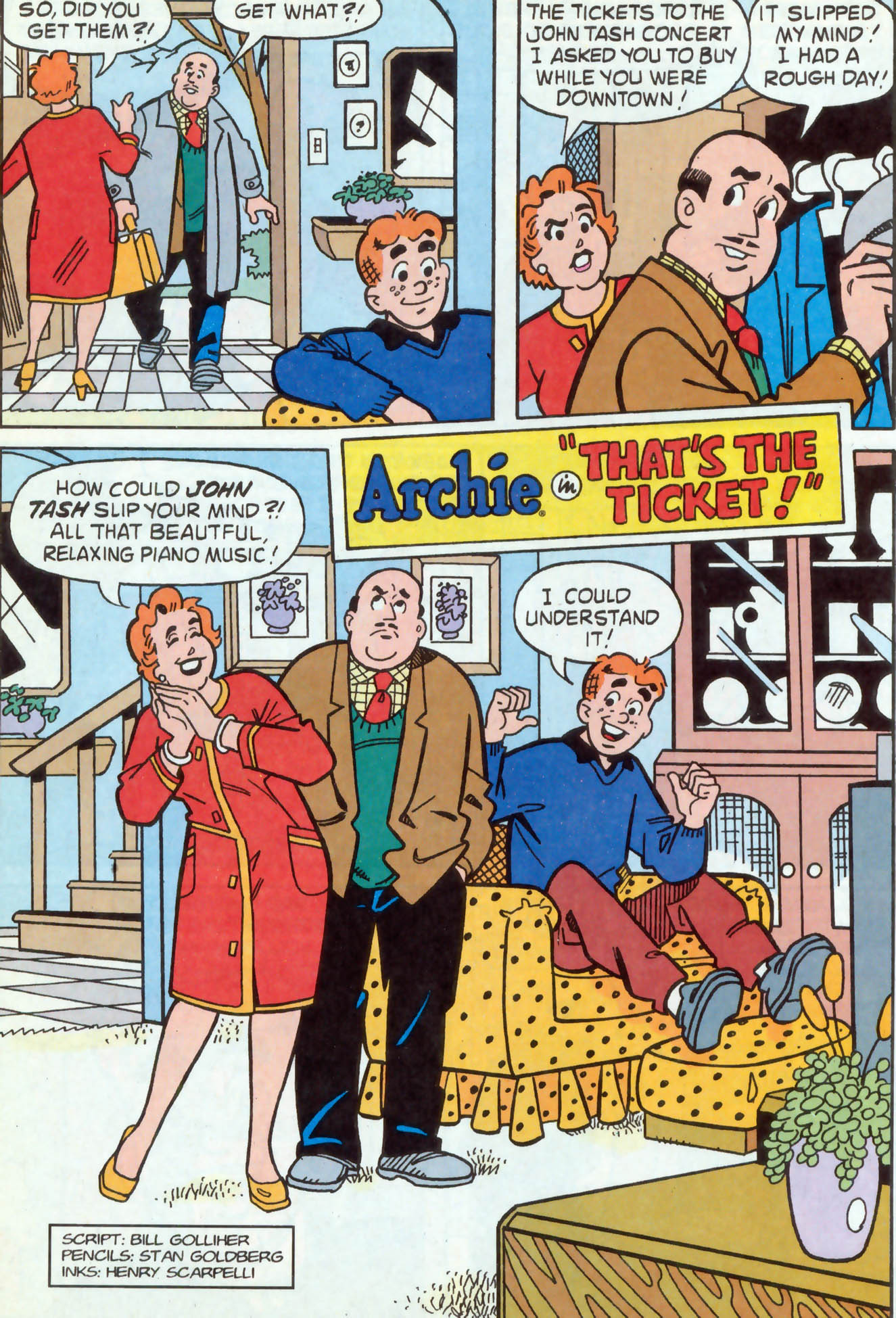 Read online Archie (1960) comic -  Issue #468 - 21