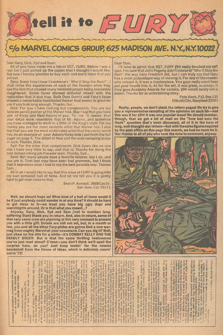 Read online Sgt. Fury comic -  Issue #98 - 33