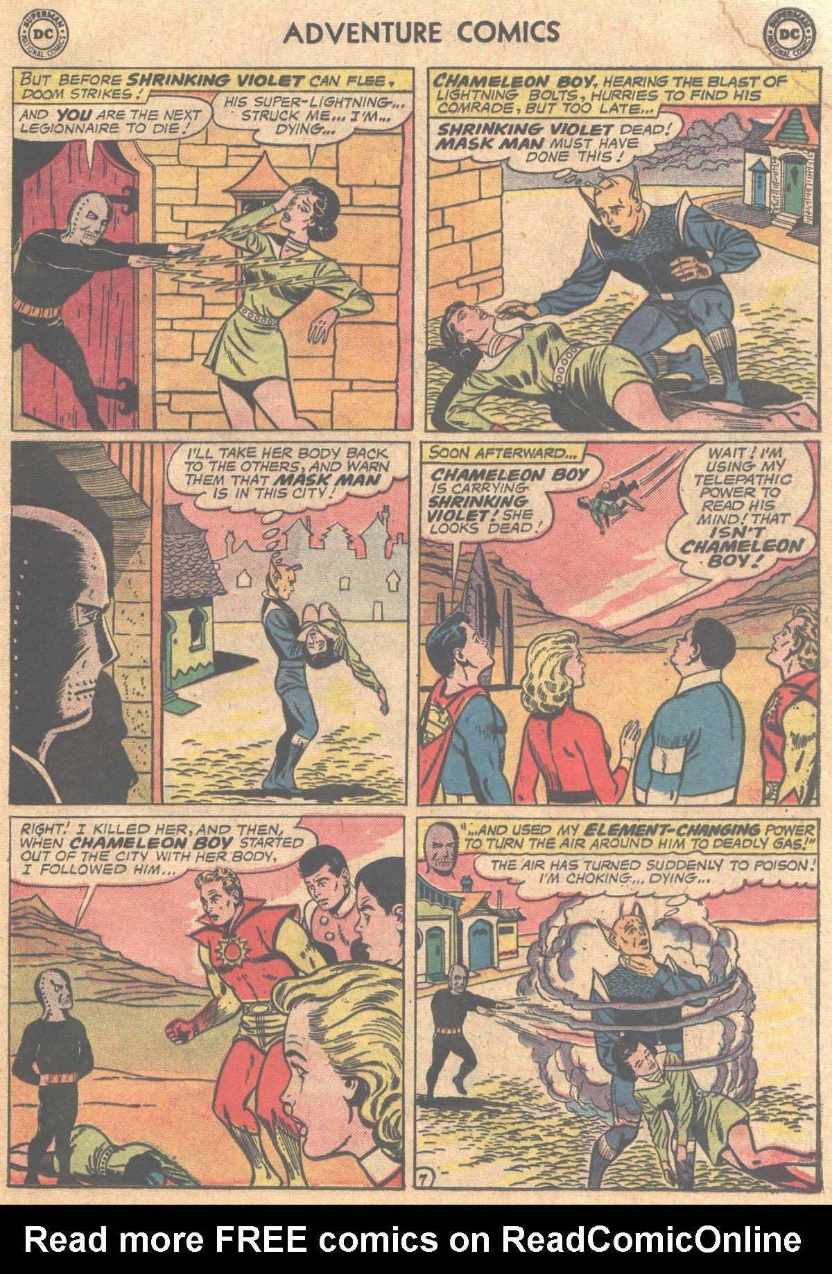 Read online Adventure Comics (1938) comic -  Issue #310 - 9