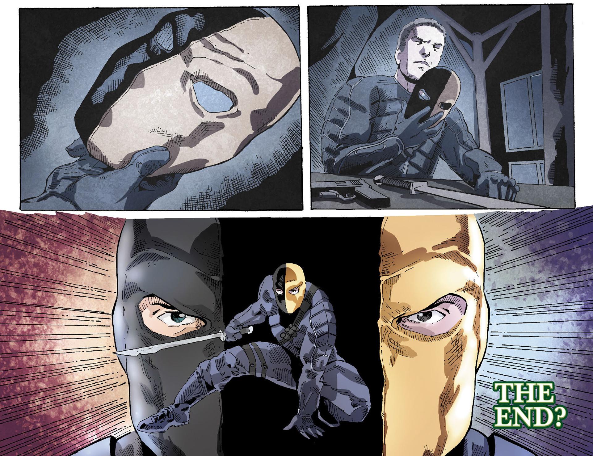 Read online Arrow [II] comic -  Issue #19 - 22