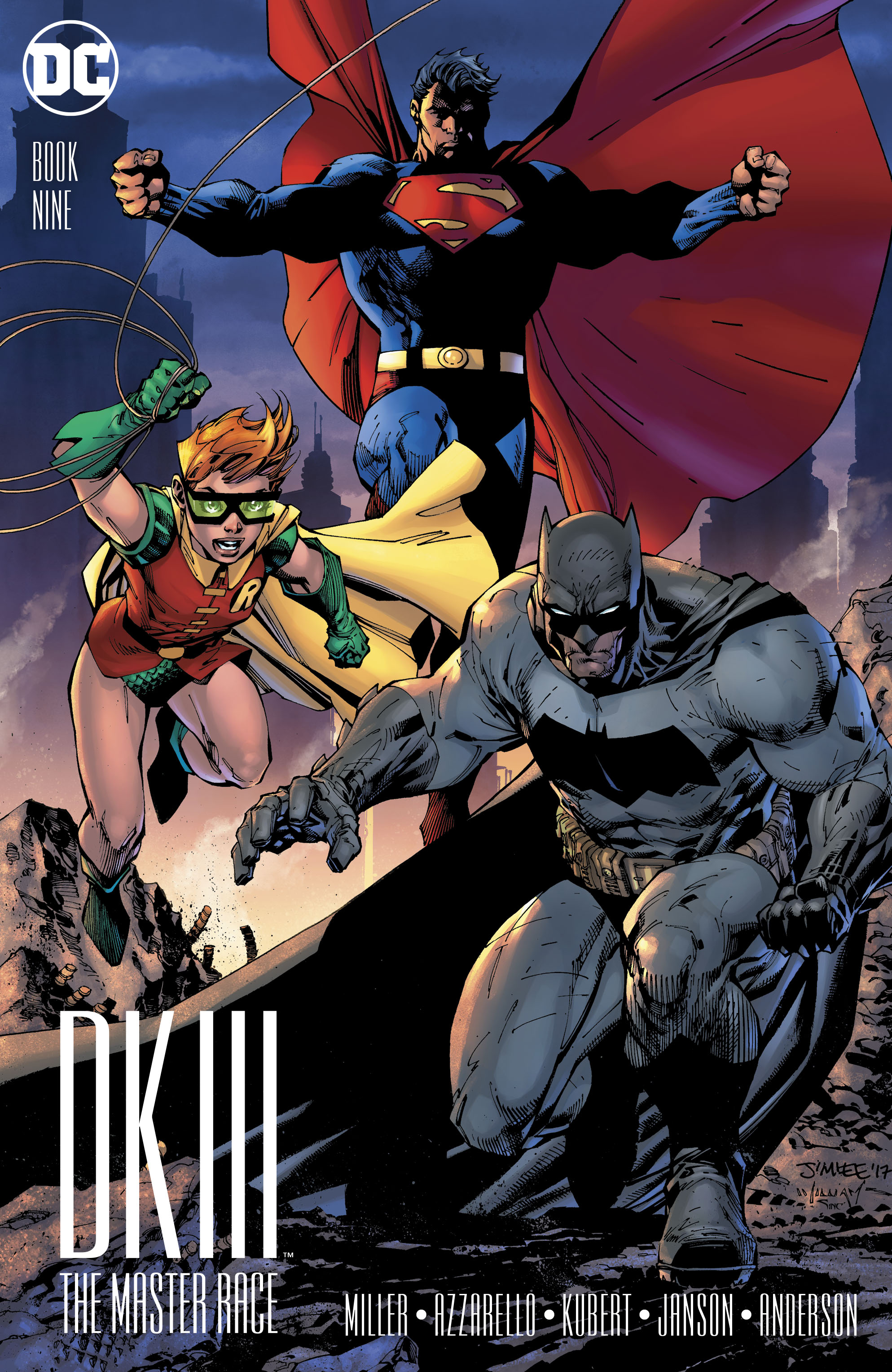 Read online Dark Knight III: The Master Race comic -  Issue #9 - 7