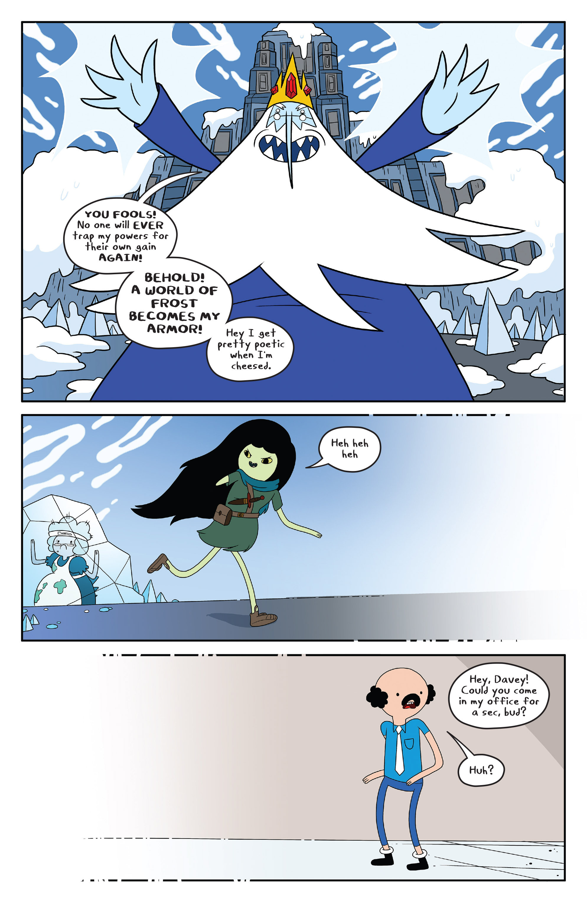Read online Adventure Time comic -  Issue #50 - 19