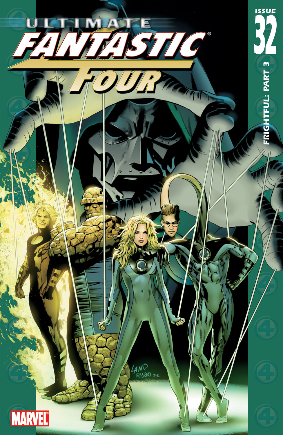 Read online Ultimate Fantastic Four (2004) comic -  Issue #32 - 1