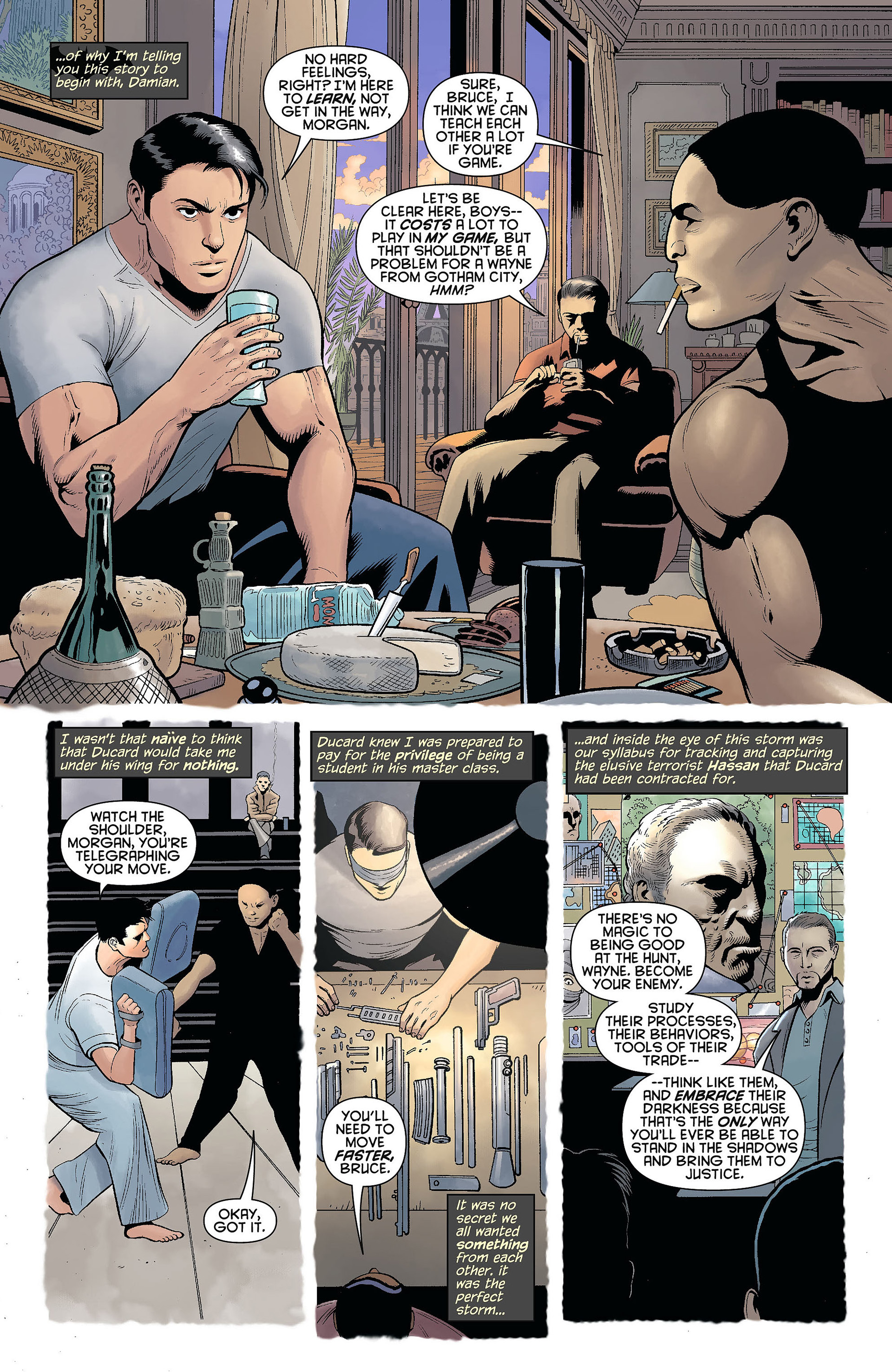 Read online Batman and Robin (2011) comic -  Issue #6 - 7