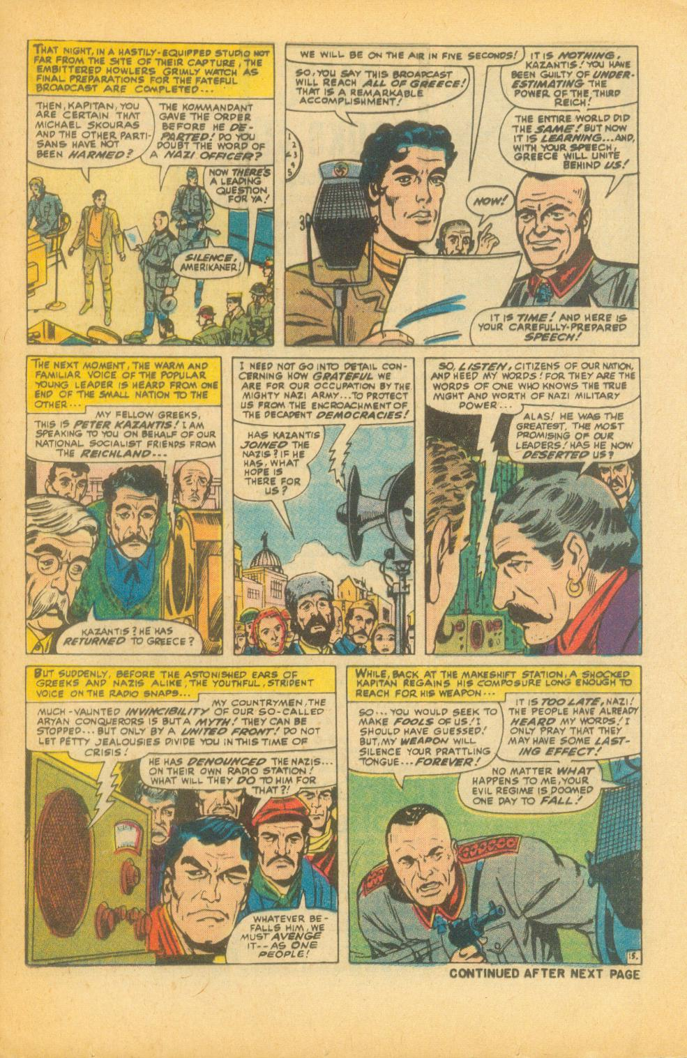 Read online Sgt. Fury comic -  Issue #99 - 21