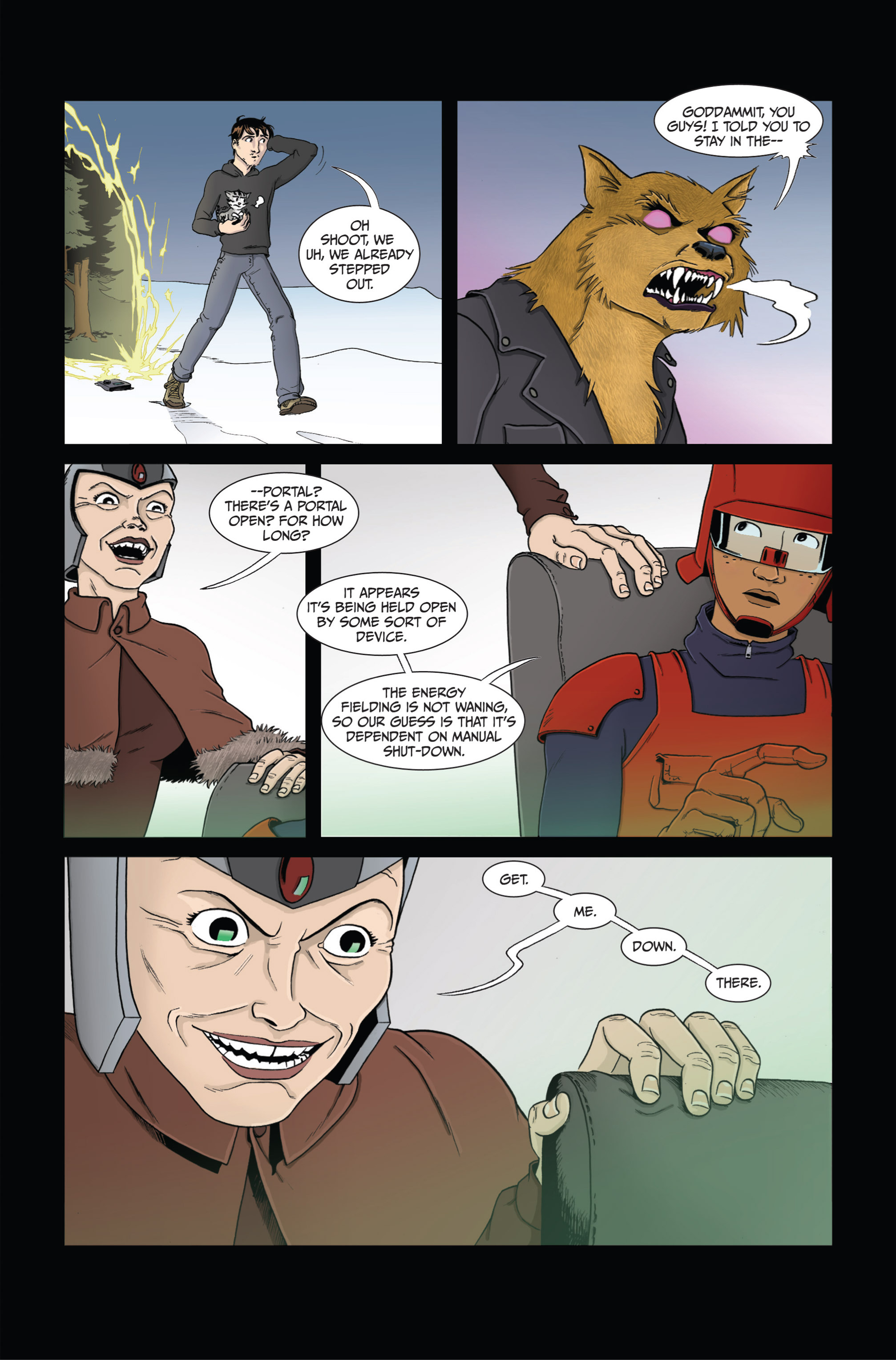 Read online Ehmm Theory: Everything & Small Doses comic -  Issue #4 - 6