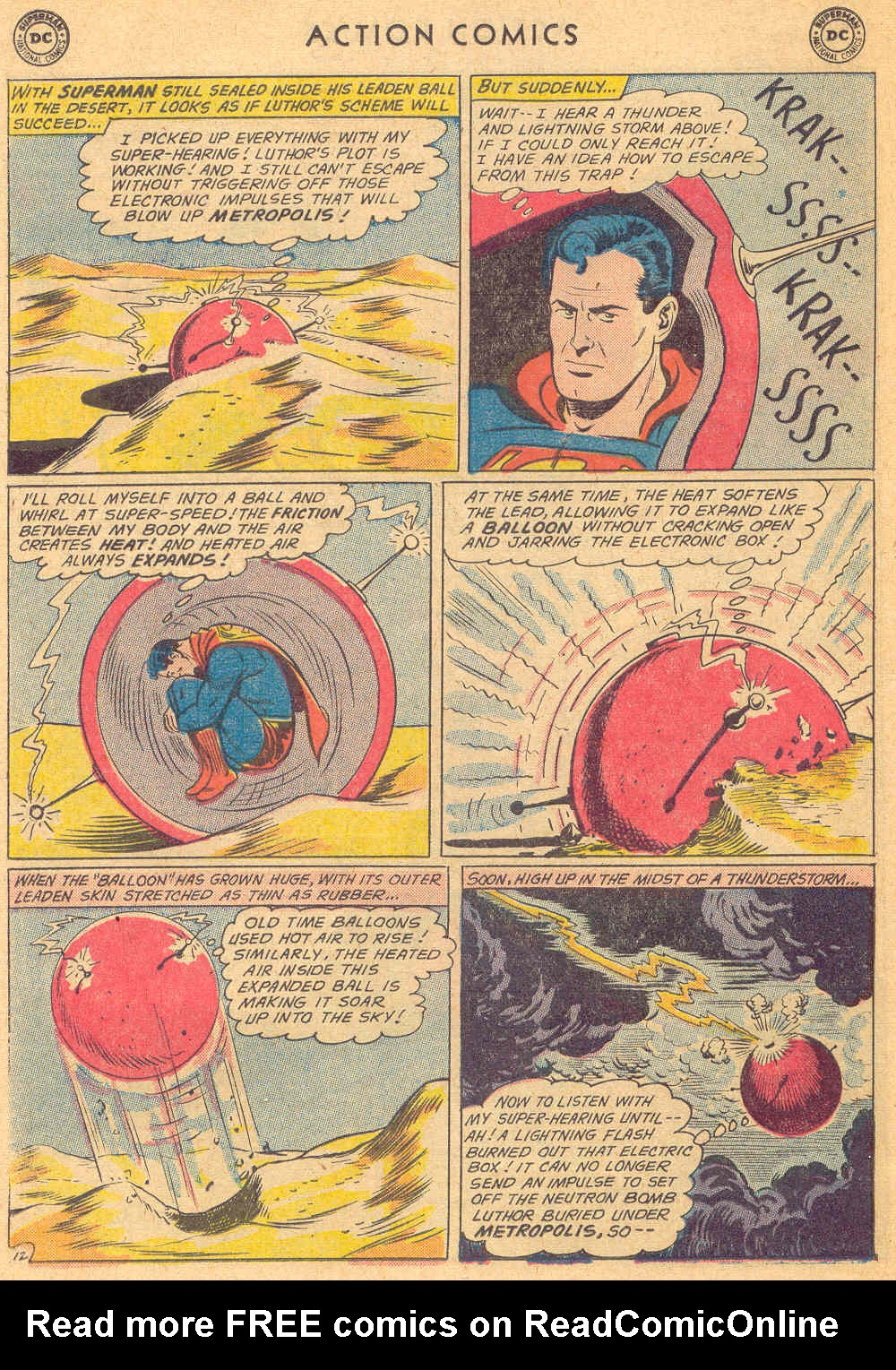 Read online Action Comics (1938) comic -  Issue #271 - 14