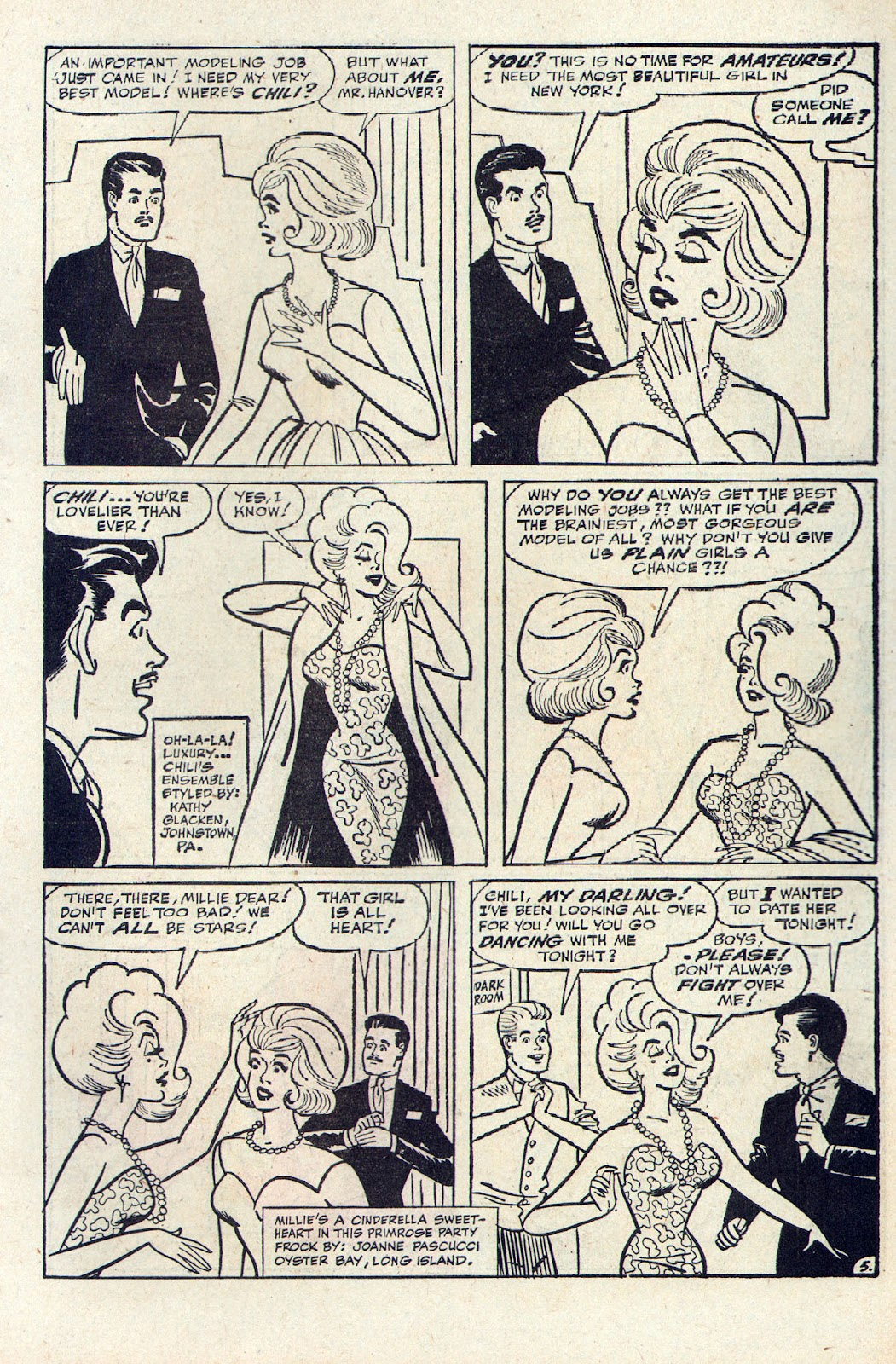 Read online Millie the Model comic -  Issue # Annual 2 - 65