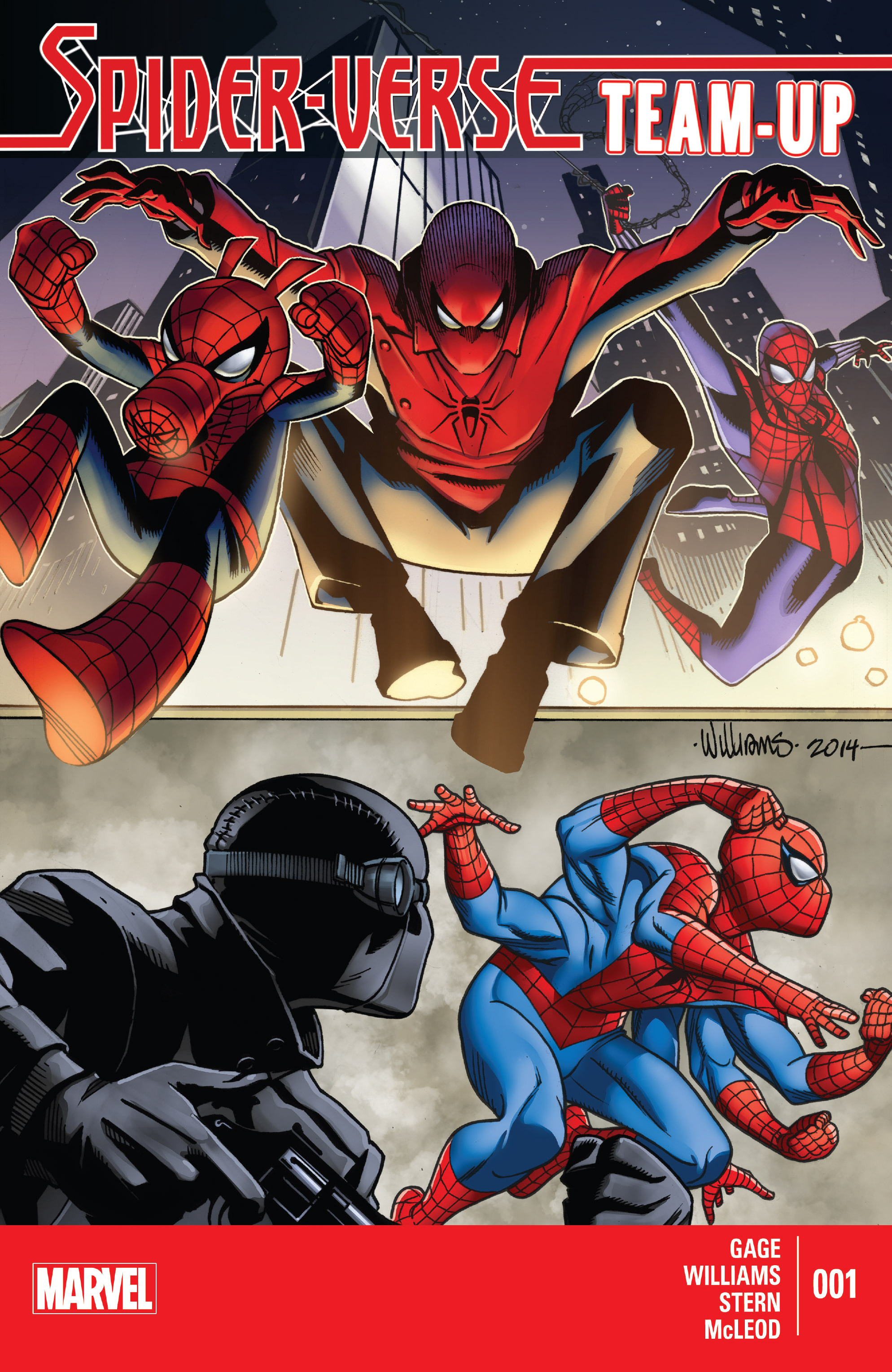 Spider-Verse Team-Up 1 Page 1