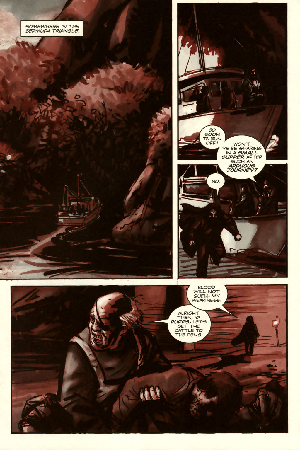Read online Sea of Red comic -  Issue #8 - 3