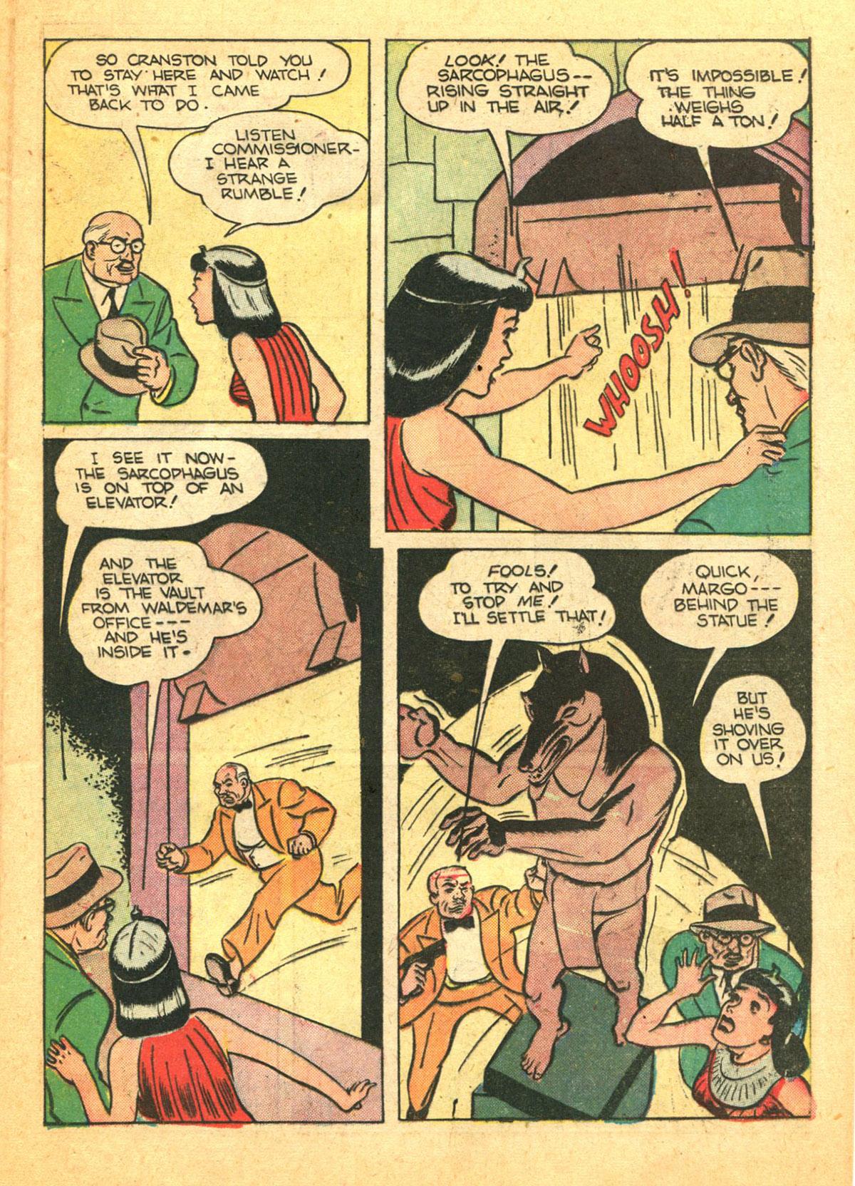 Read online Shadow Comics comic -  Issue #38 - 25