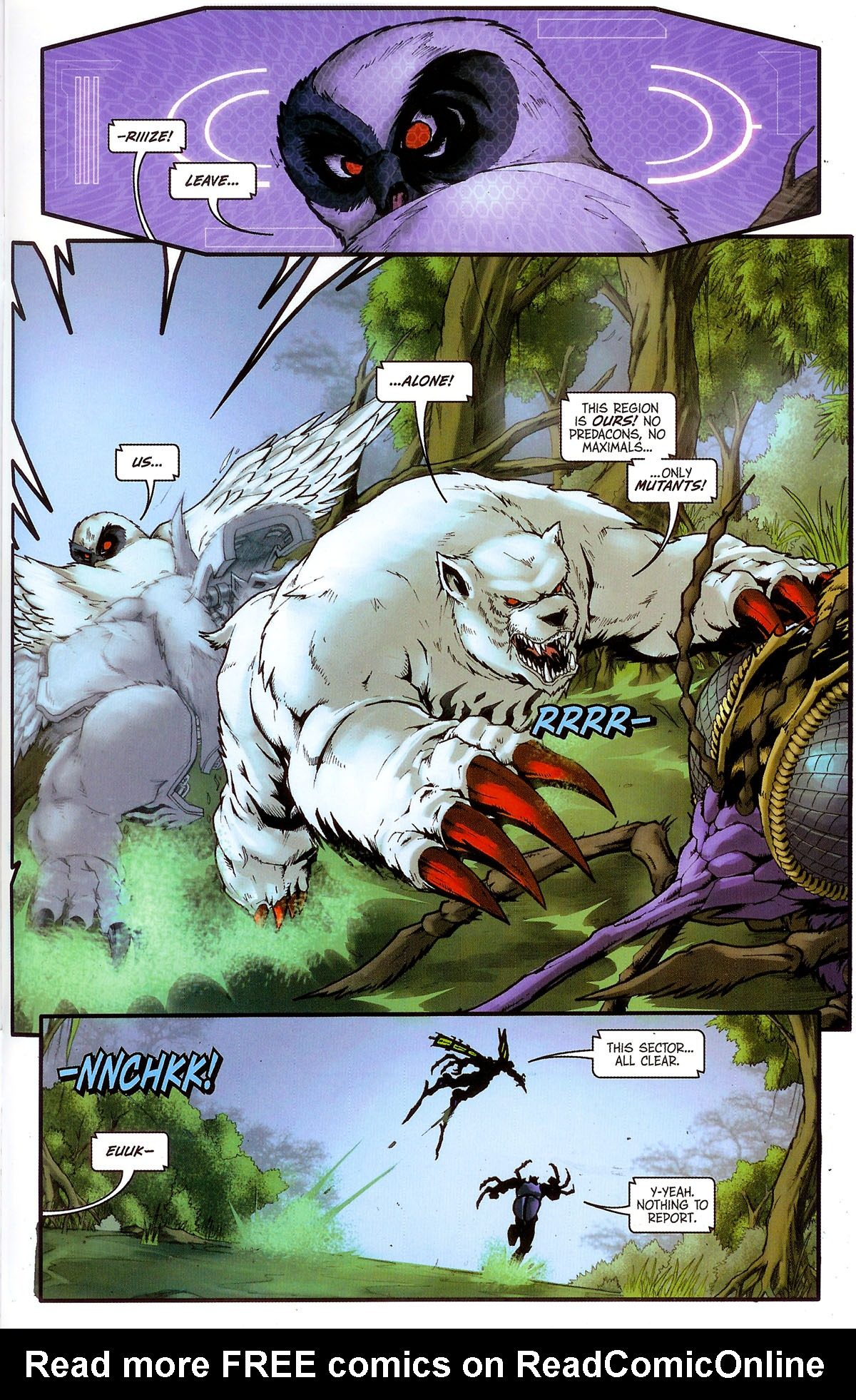 Read online Transformers, Beast Wars: The Gathering comic -  Issue #3 - 12