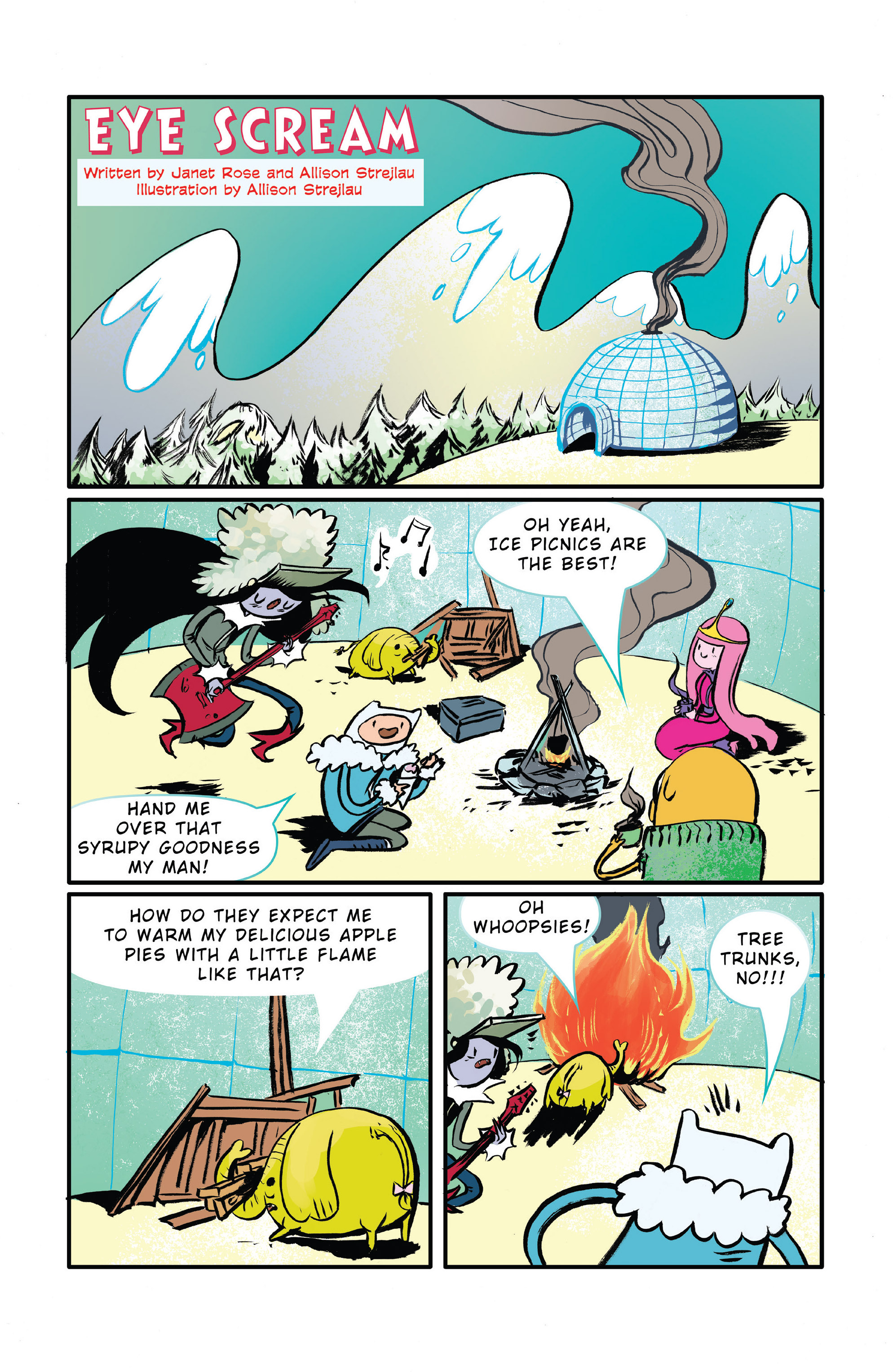Read online Adventure Time 2014 Winter Special comic -  Issue #Adventure Time 2014 Winter Special Full - 28