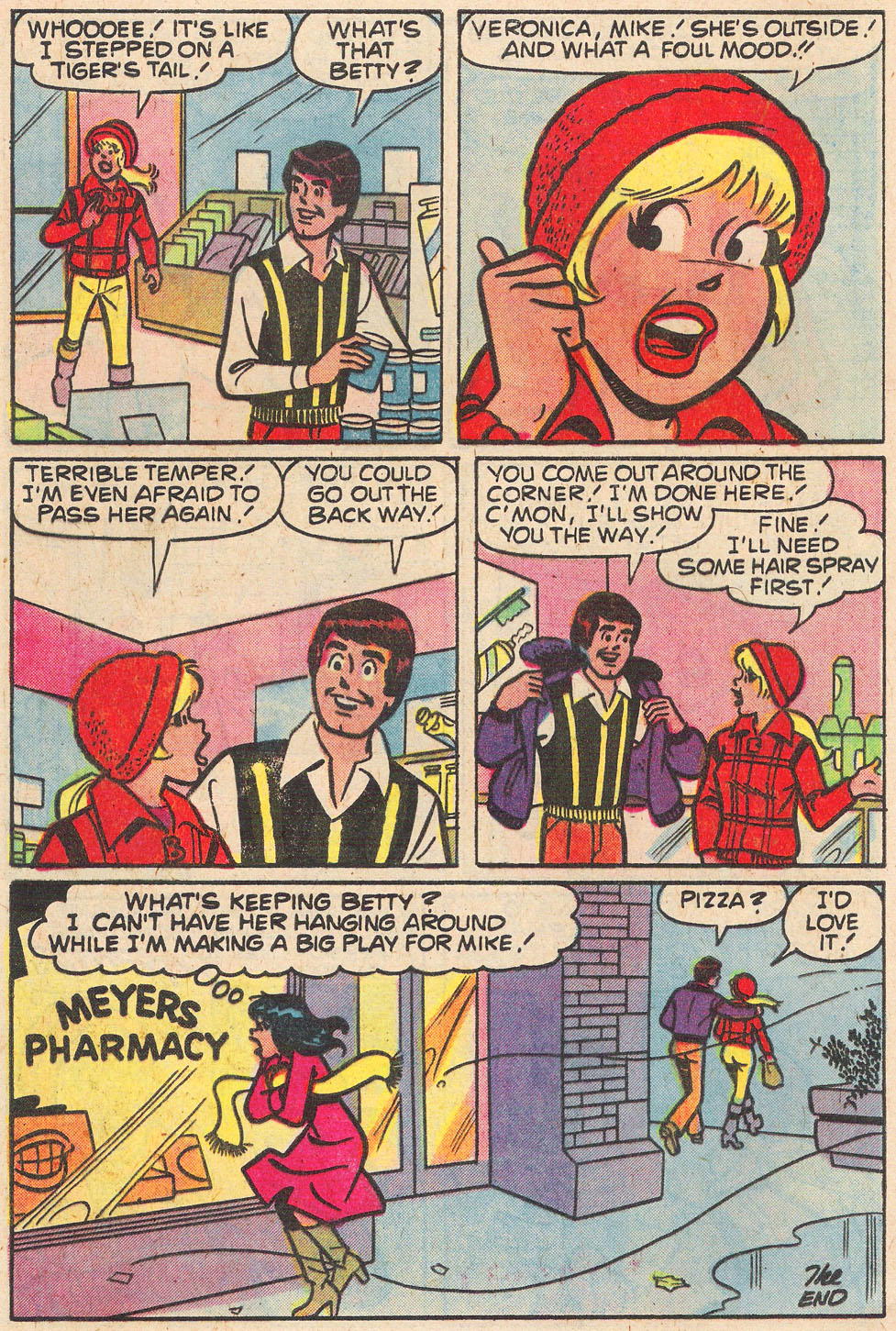 Read online Archie's Girls Betty and Veronica comic -  Issue #269 - 8