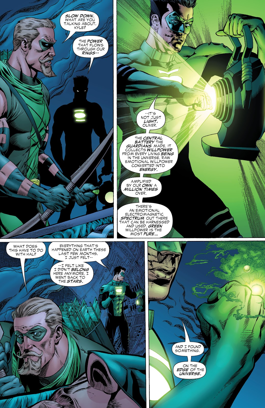 Read online Green Lantern by Geoff Johns comic -  Issue # TPB 1 (Part 1) - 79