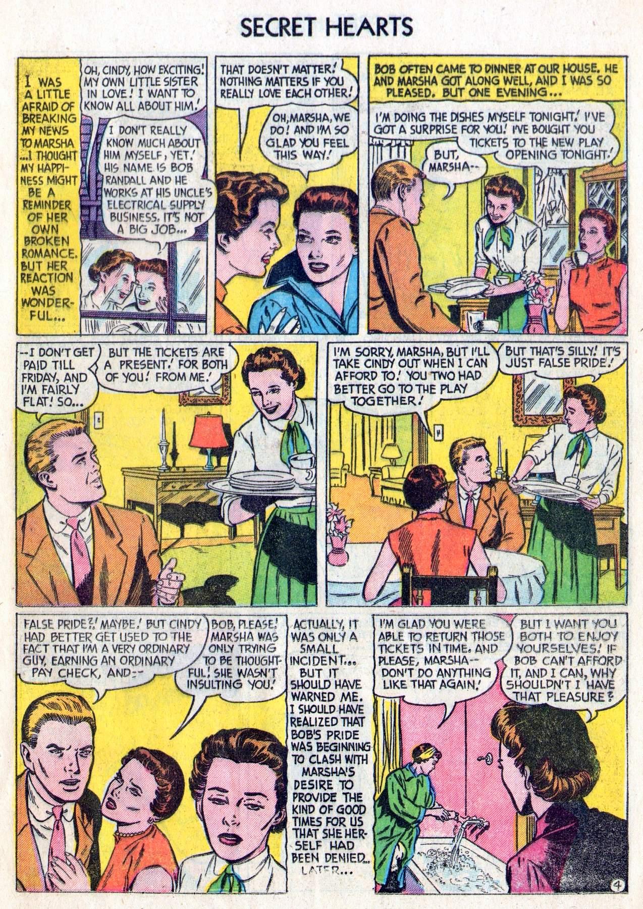 Read online Secret Hearts comic -  Issue #28 - 13