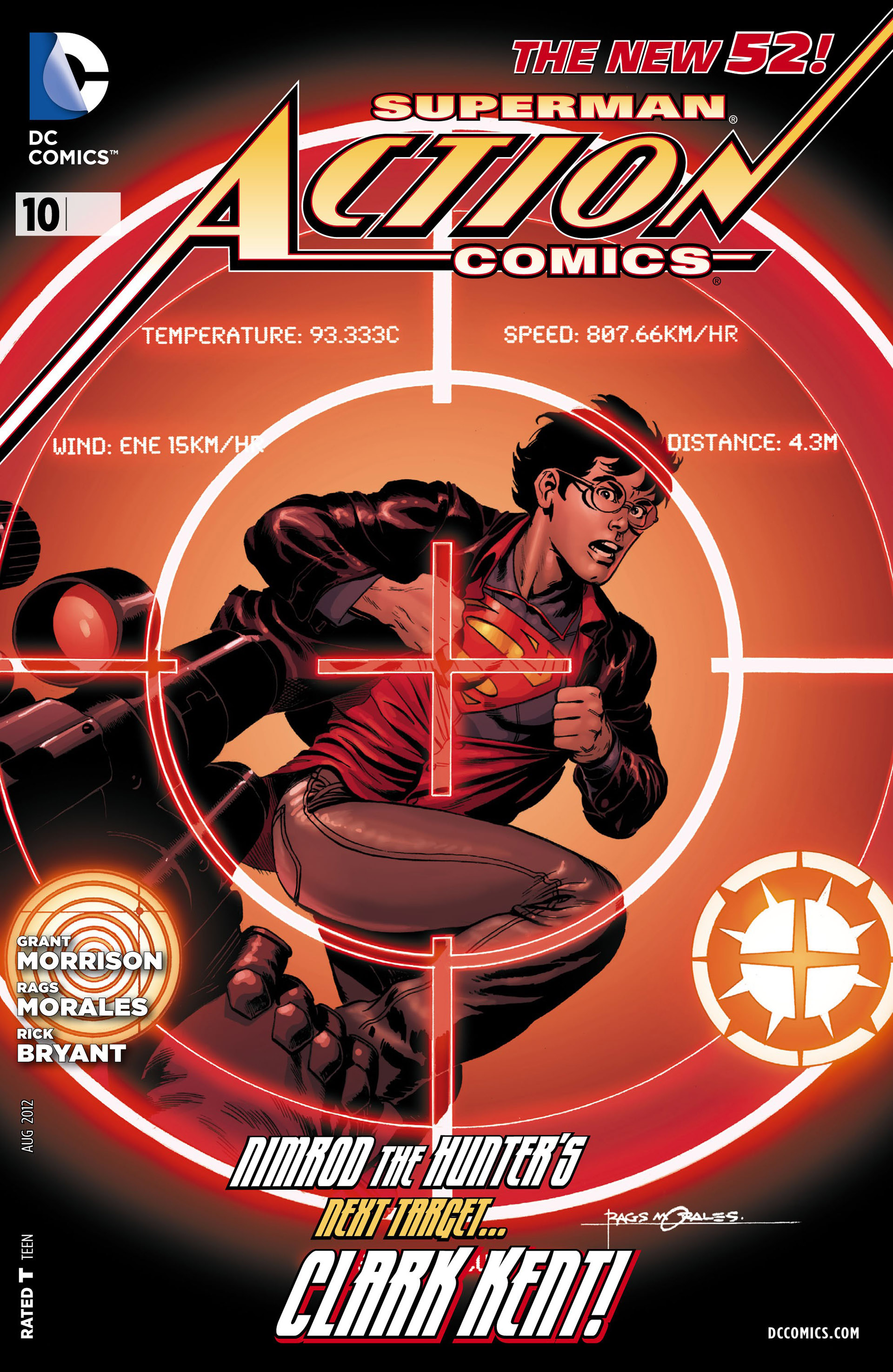 Read online Action Comics (2011) comic -  Issue #10 - 1