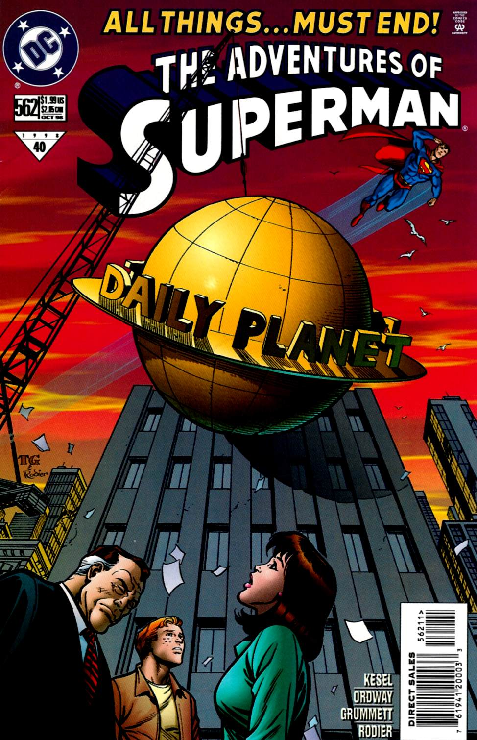 Read online Adventures of Superman (1987) comic -  Issue #562 - 1