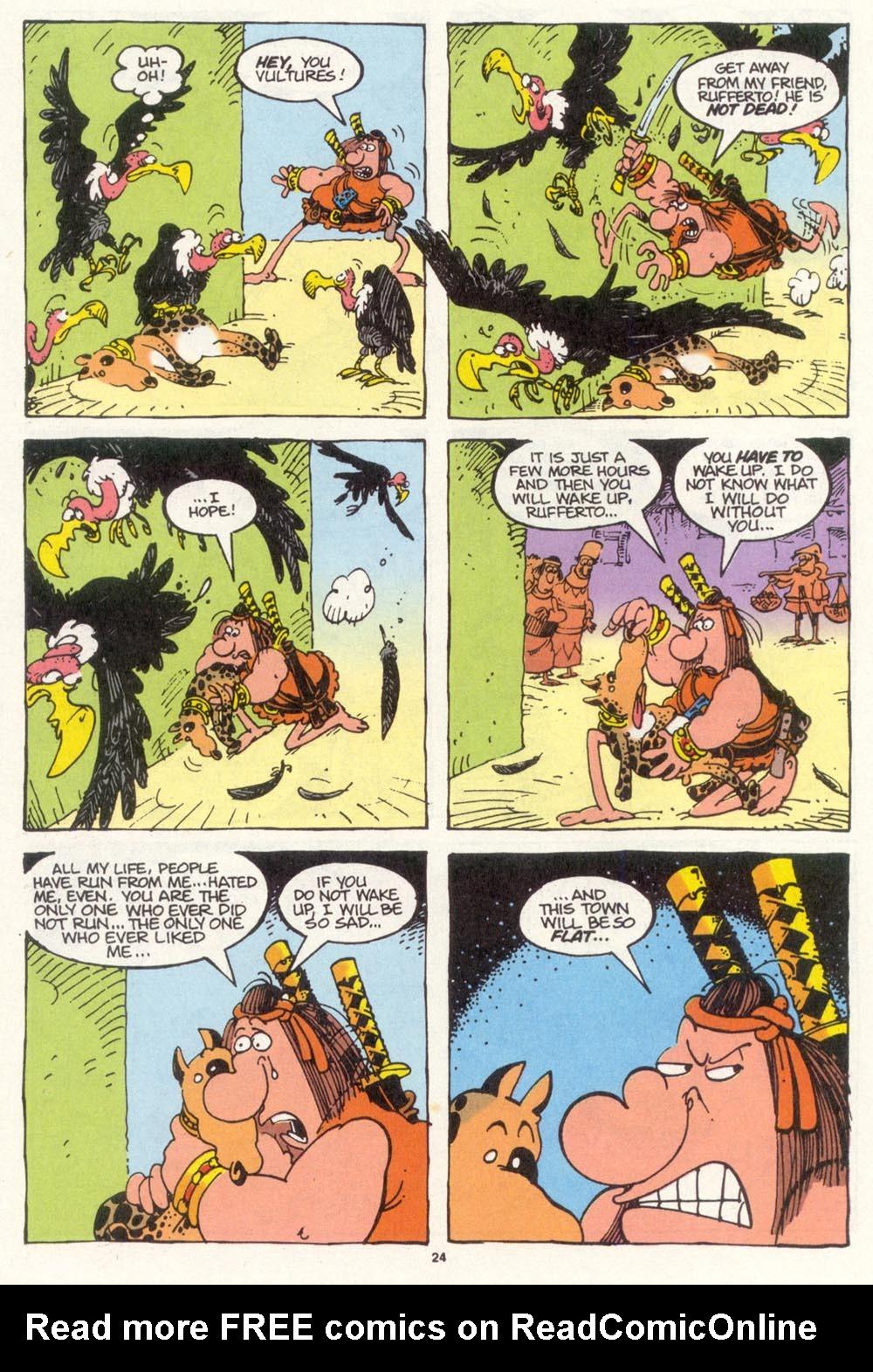 Read online Sergio Aragonés Groo the Wanderer comic -  Issue #112 - 26