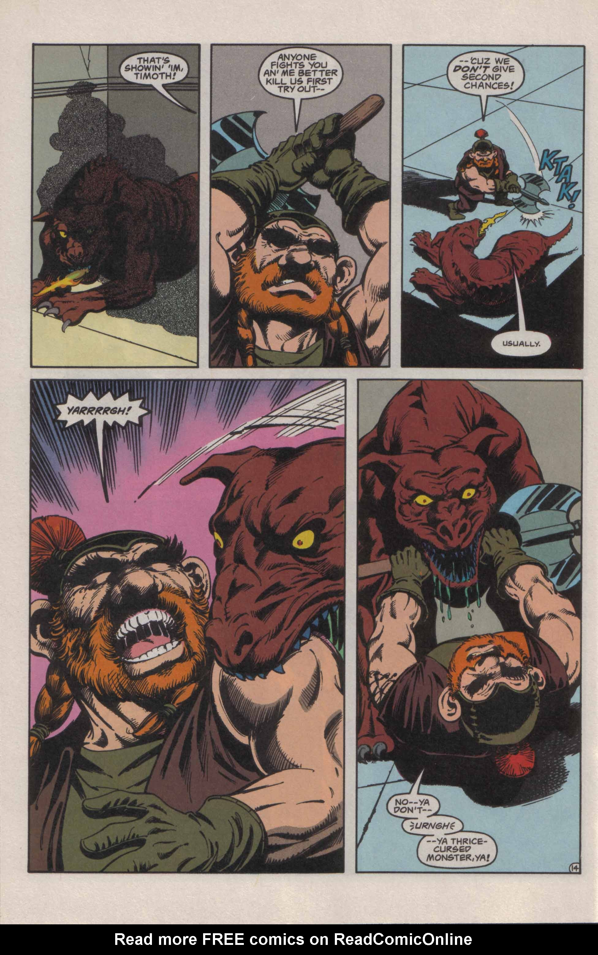 Read online Advanced Dungeons & Dragons comic -  Issue #21 - 15