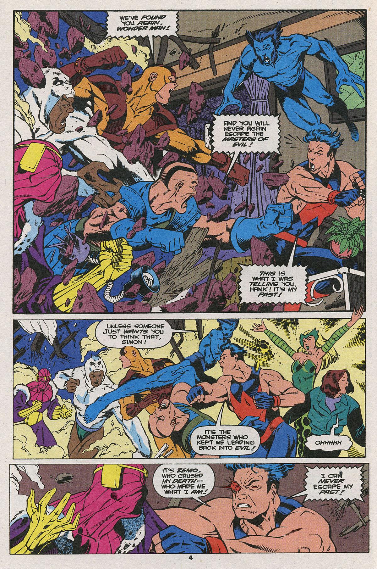 Read online Wonder Man (1991) comic -  Issue #25 - 5