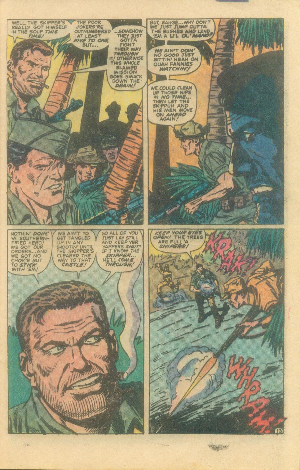 Read online Sgt. Fury comic -  Issue #160 - 25