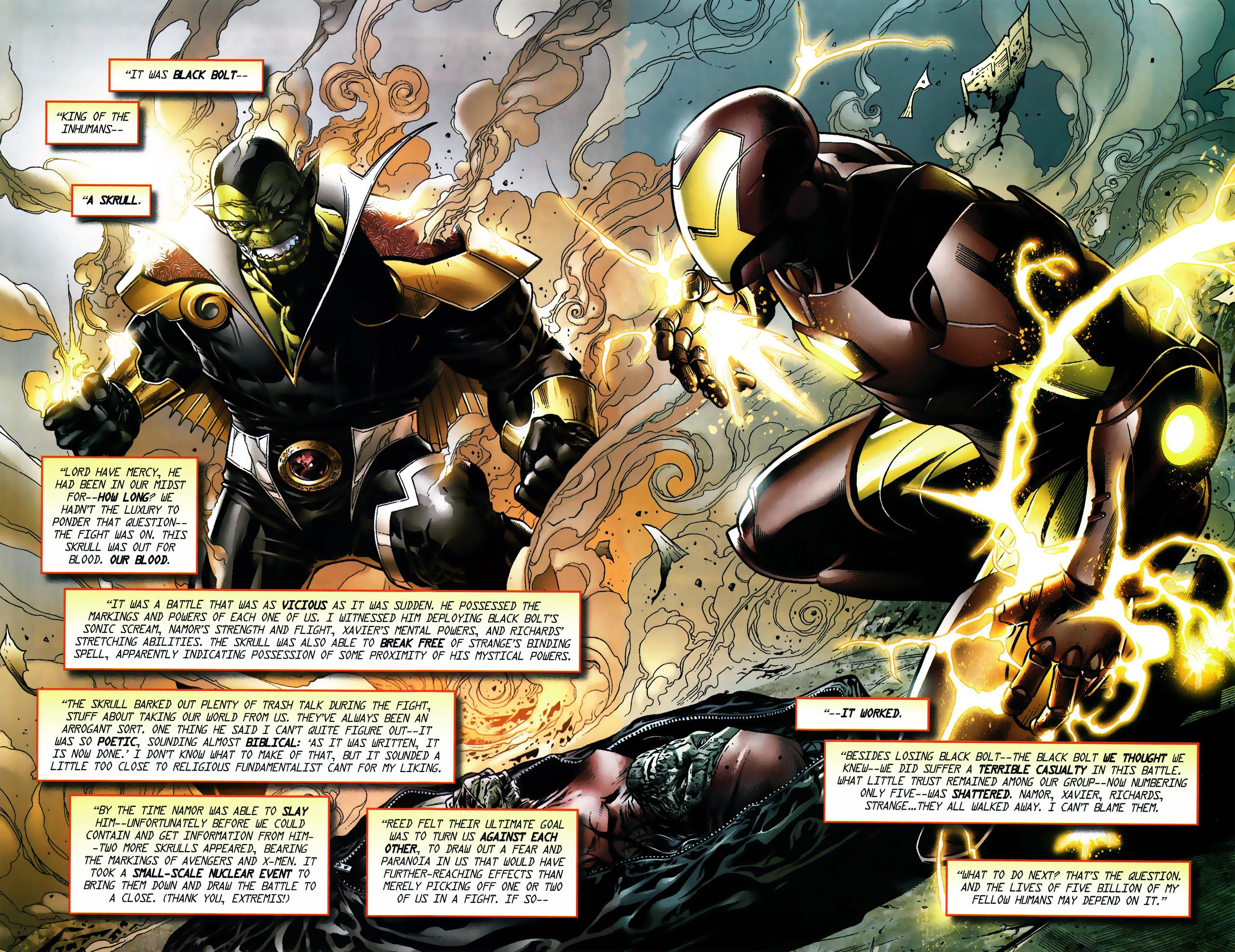 Read online Secret Invasion Saga comic -  Issue # Full - 7