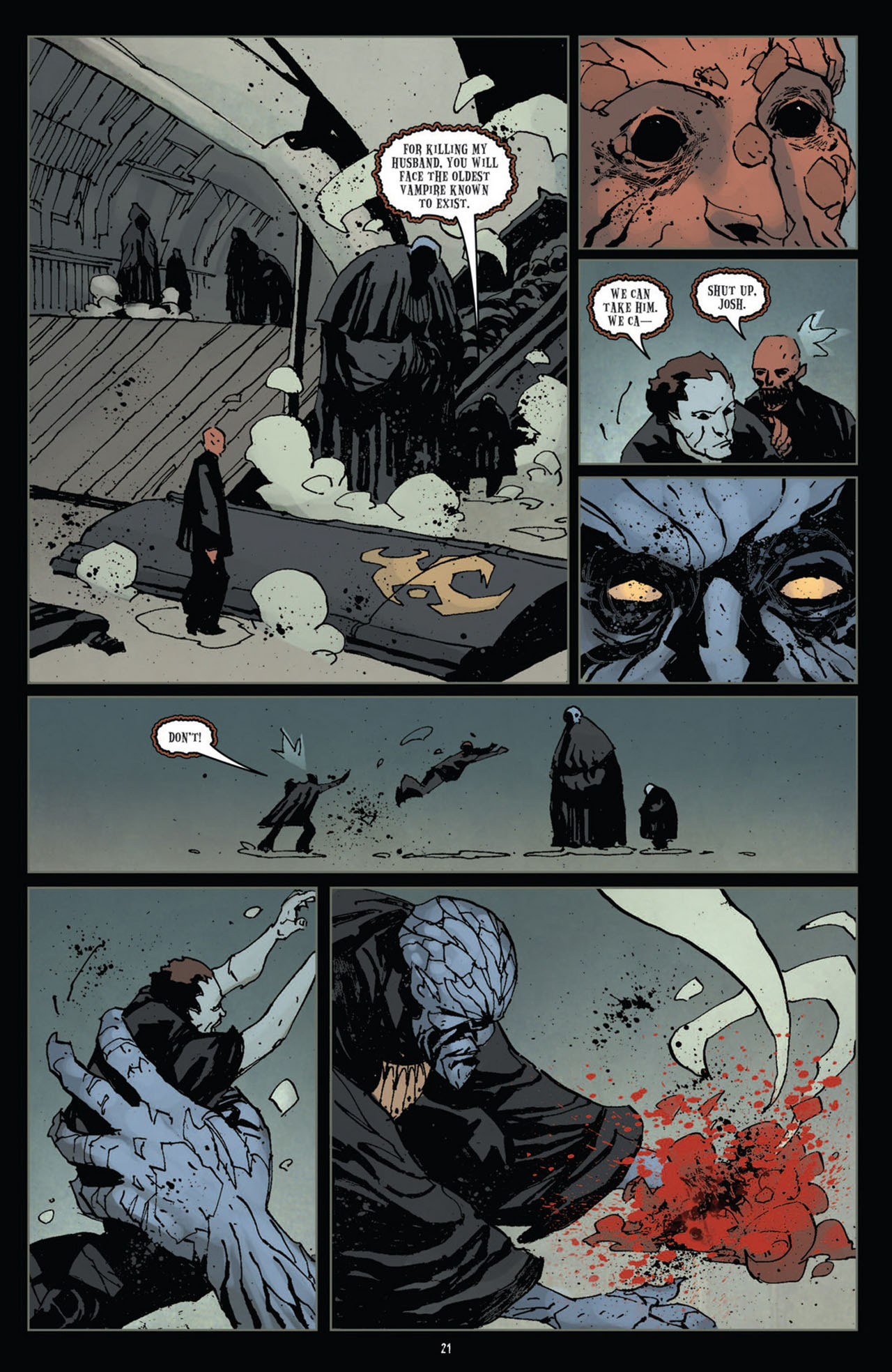 Read online 30 Days of Night (2011) comic -  Issue #11 - 22