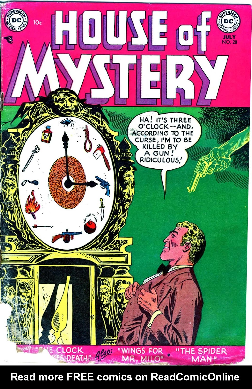 House of Mystery (1951) issue 28 - Page 1