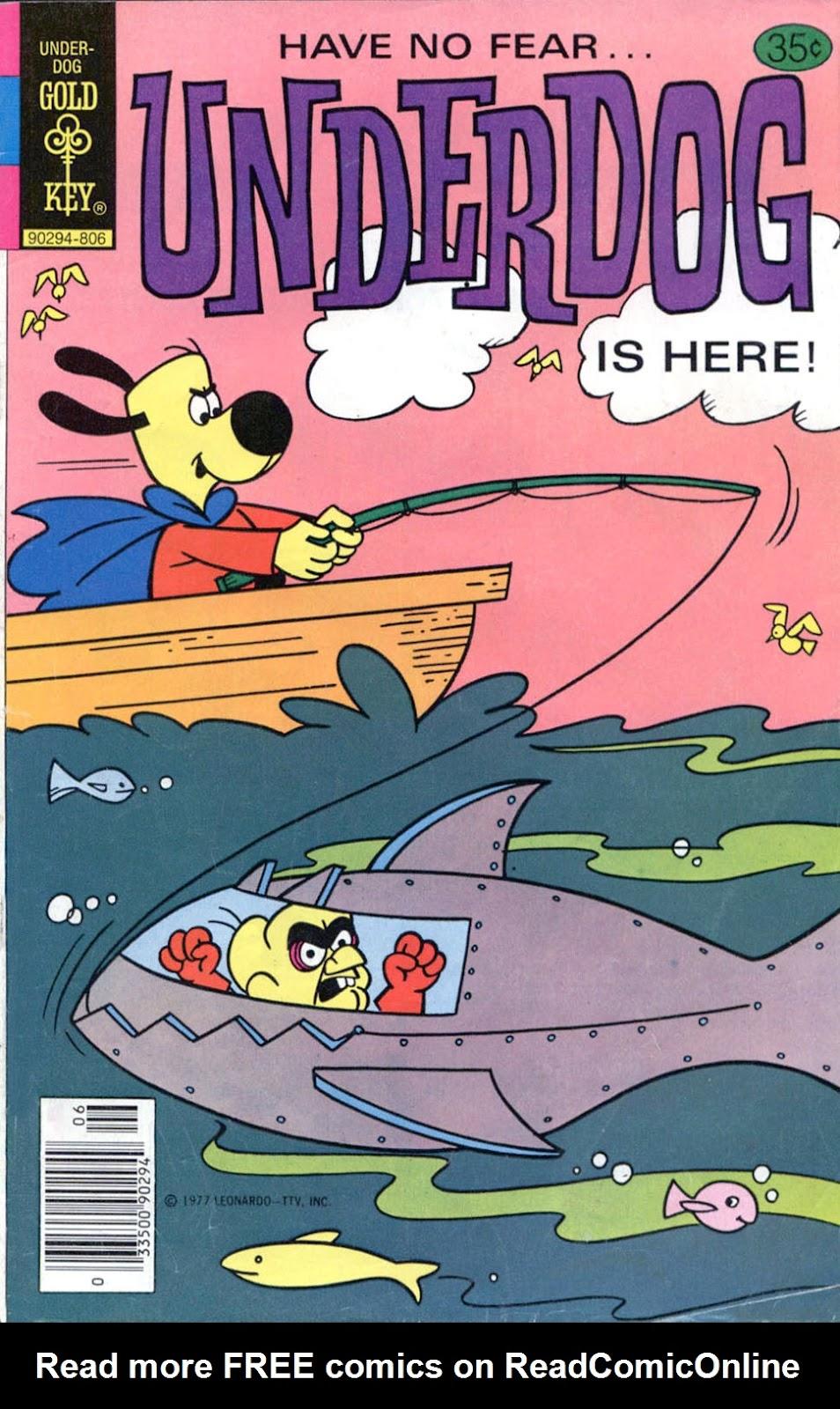 Underdog (1975) issue 19 - Page 1
