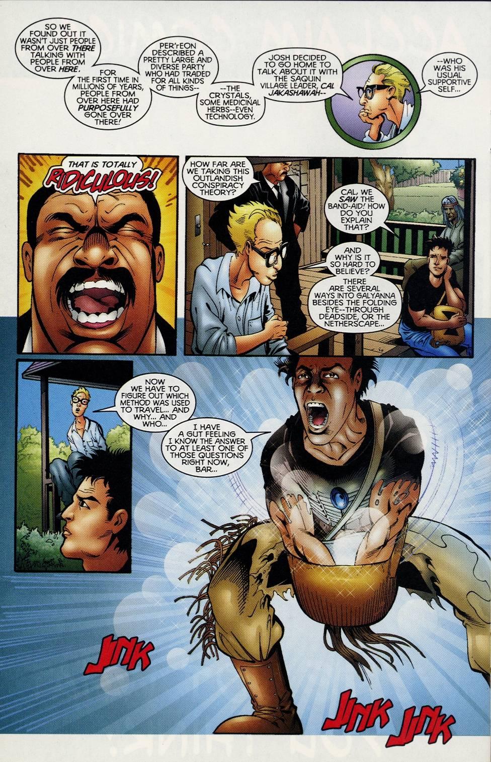 Read online Turok comic -  Issue #3 - 19