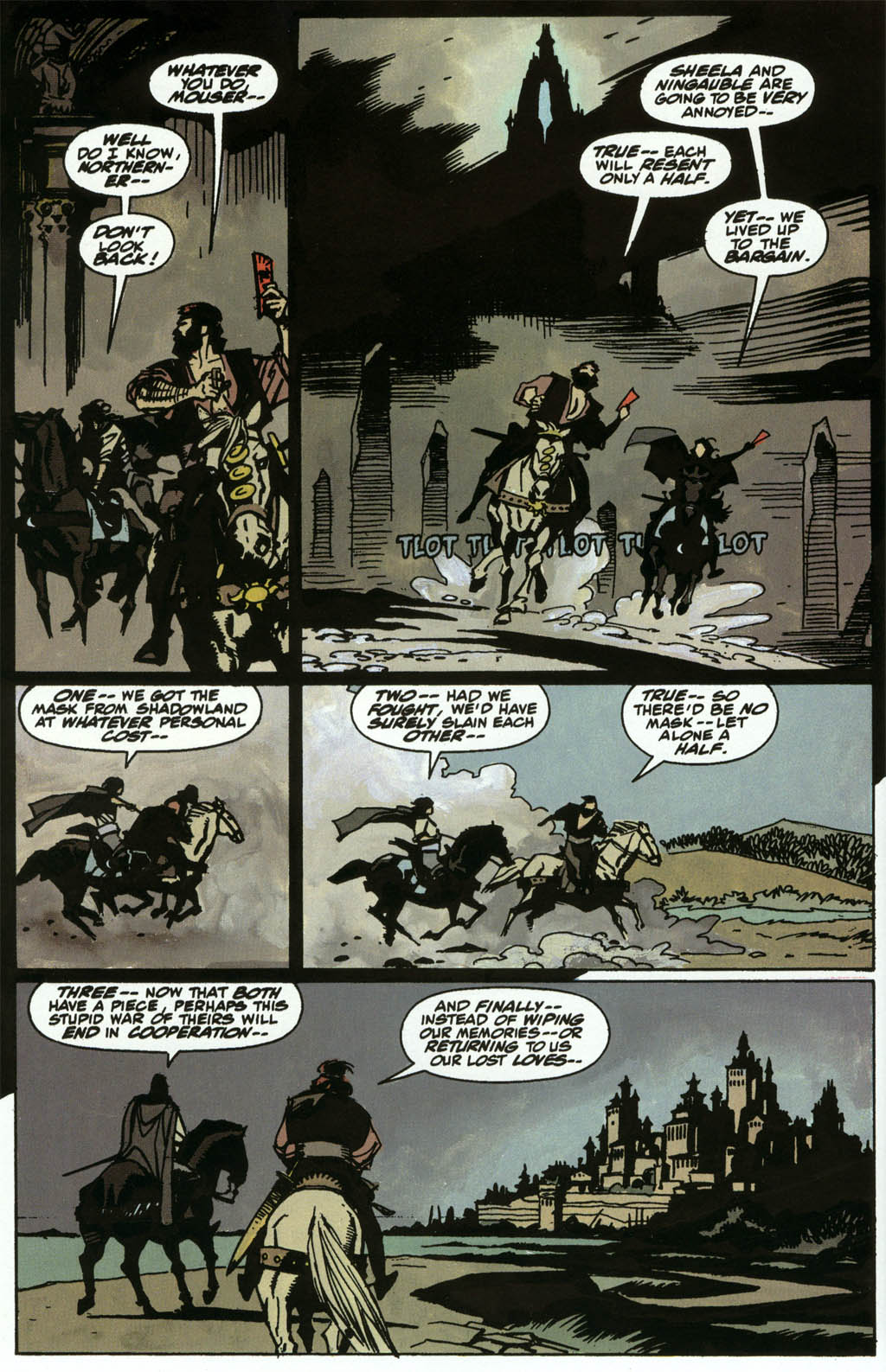 Read online Fafhrd and the Gray Mouser comic -  Issue #3 - 20