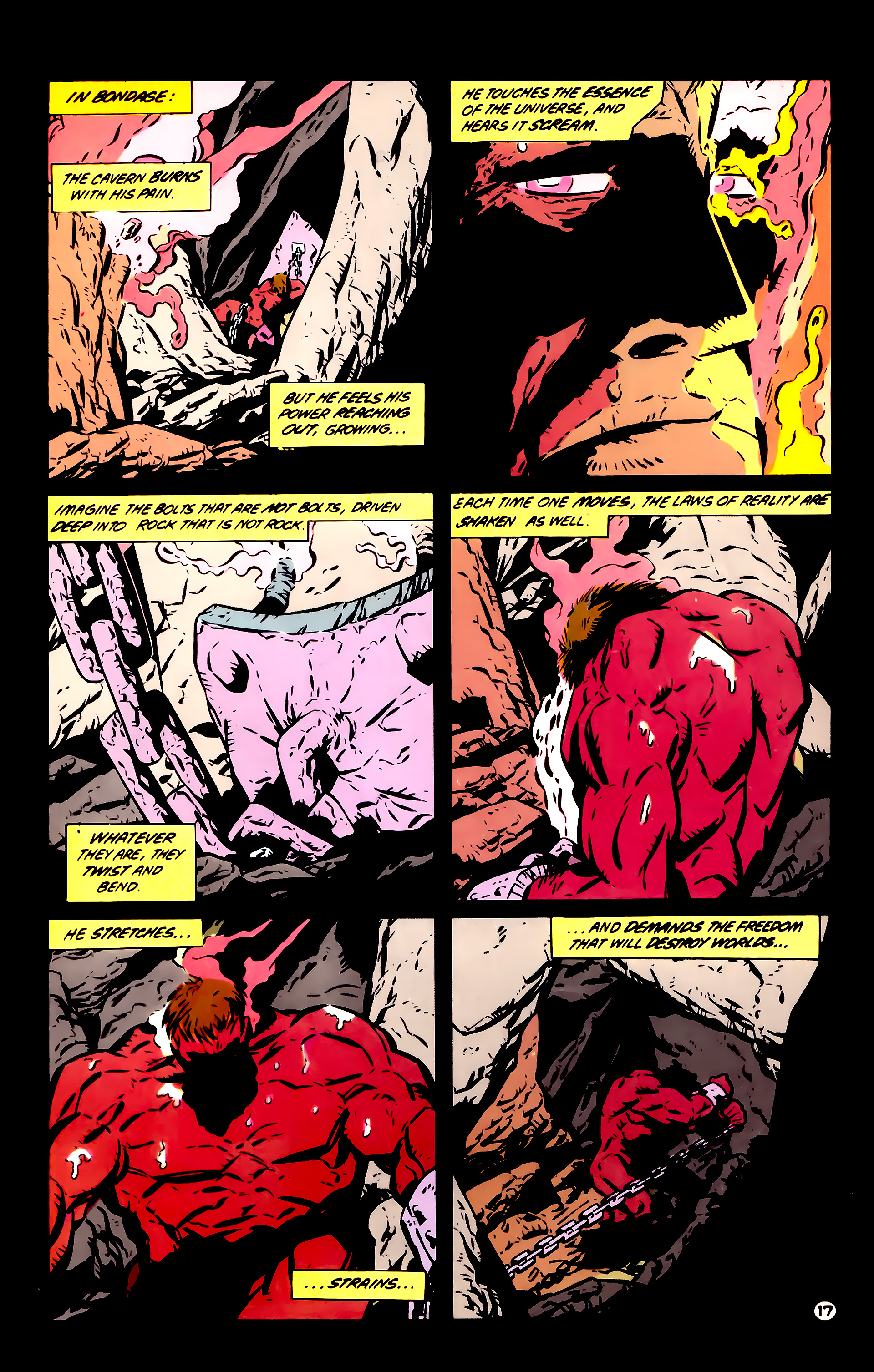 Legion of Super-Heroes (1984) 60 Page 17