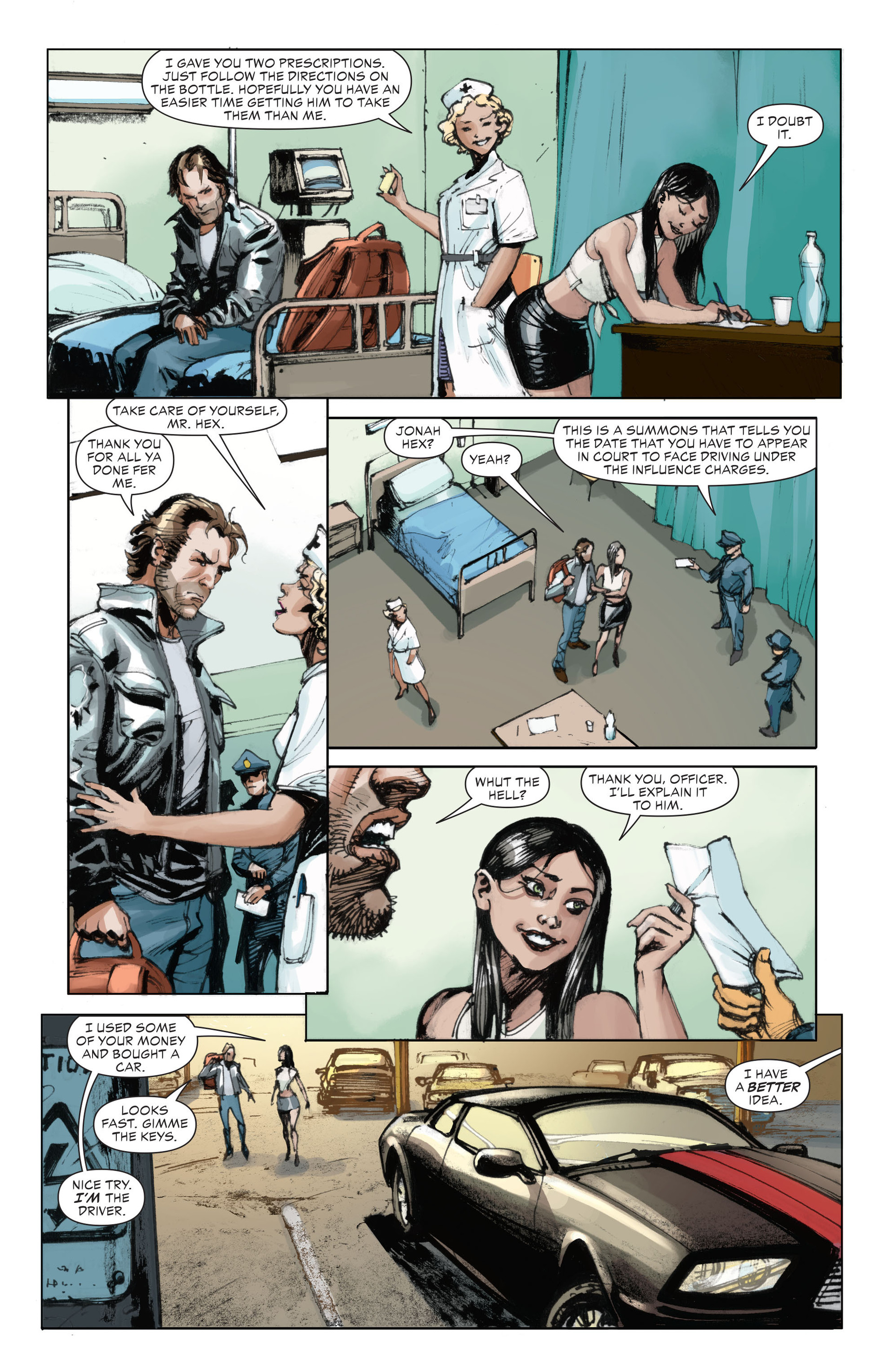 Read online All-Star Western (2011) comic -  Issue #28 - 15