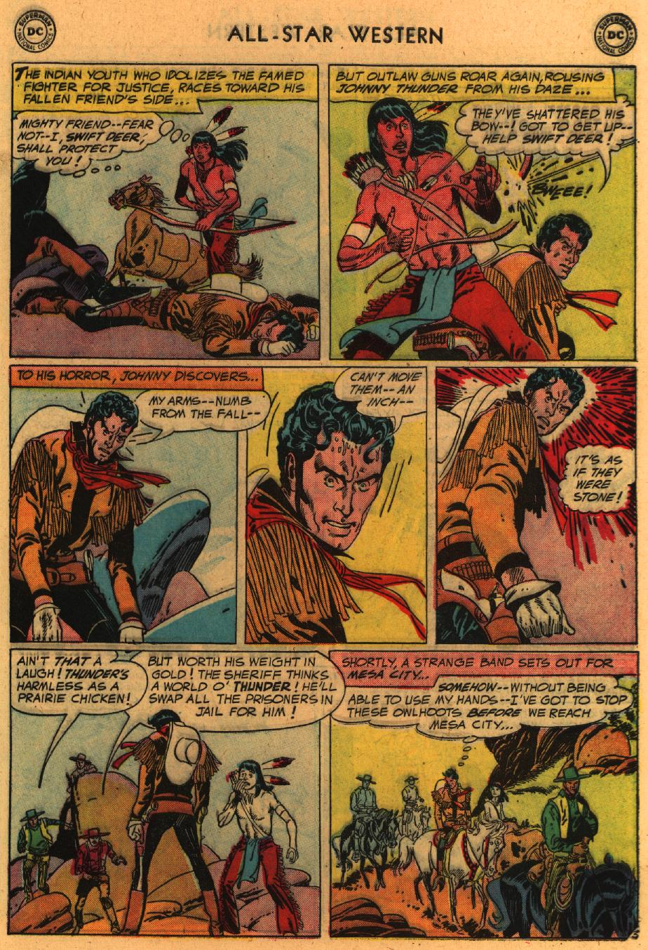 Read online All-Star Western (1951) comic -  Issue #98 - 30