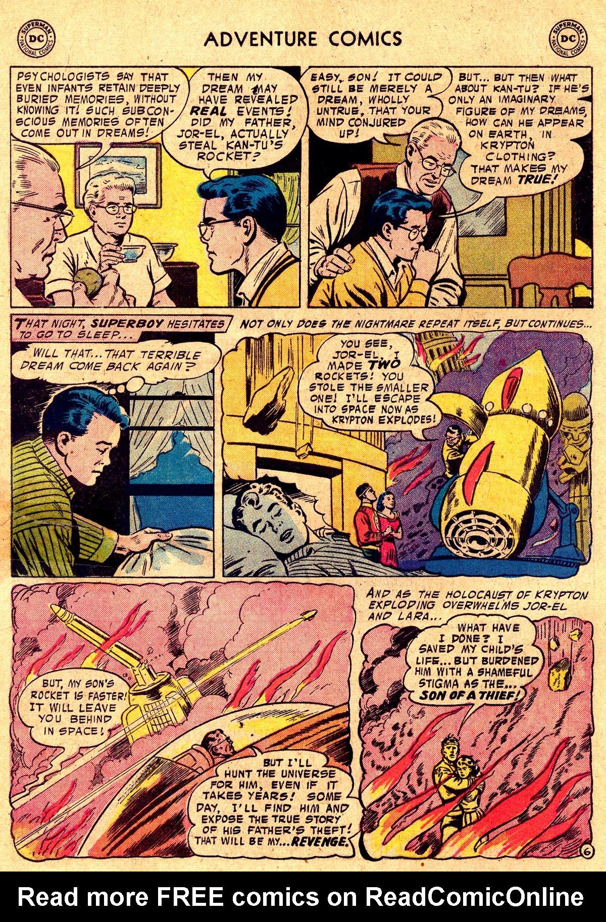 Read online Adventure Comics (1938) comic -  Issue #238 - 8