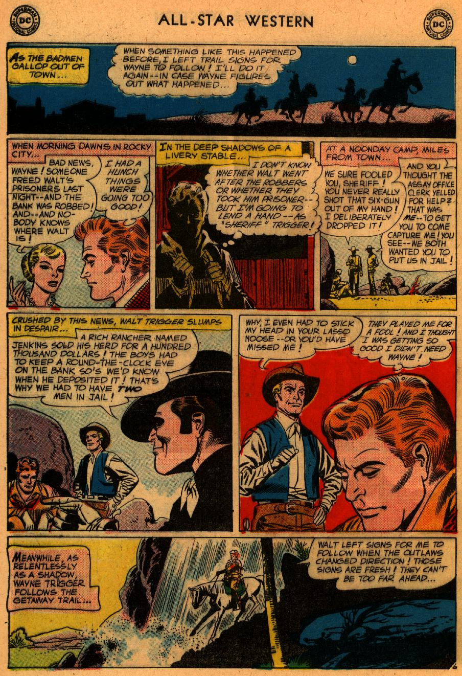 Read online All-Star Western (1951) comic -  Issue #107 - 31