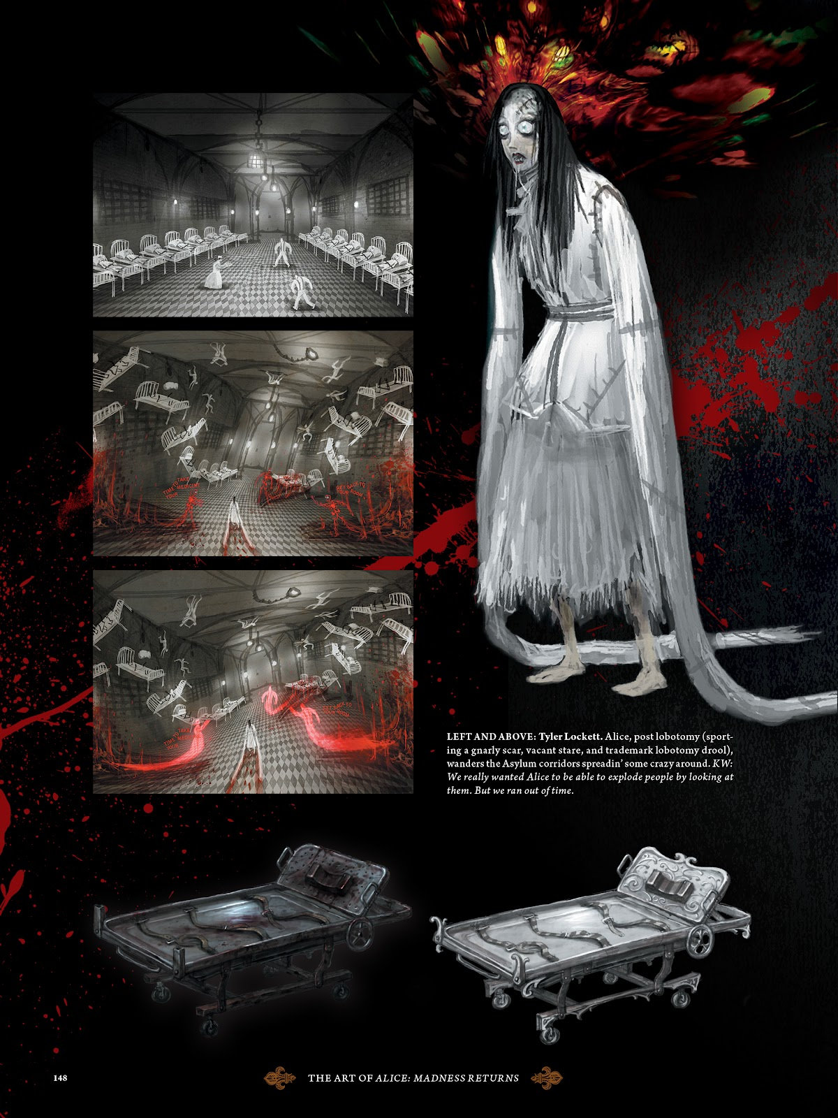 Read online The Art of Alice: Madness Returns comic -  Issue # TPB (Part 2) - 41