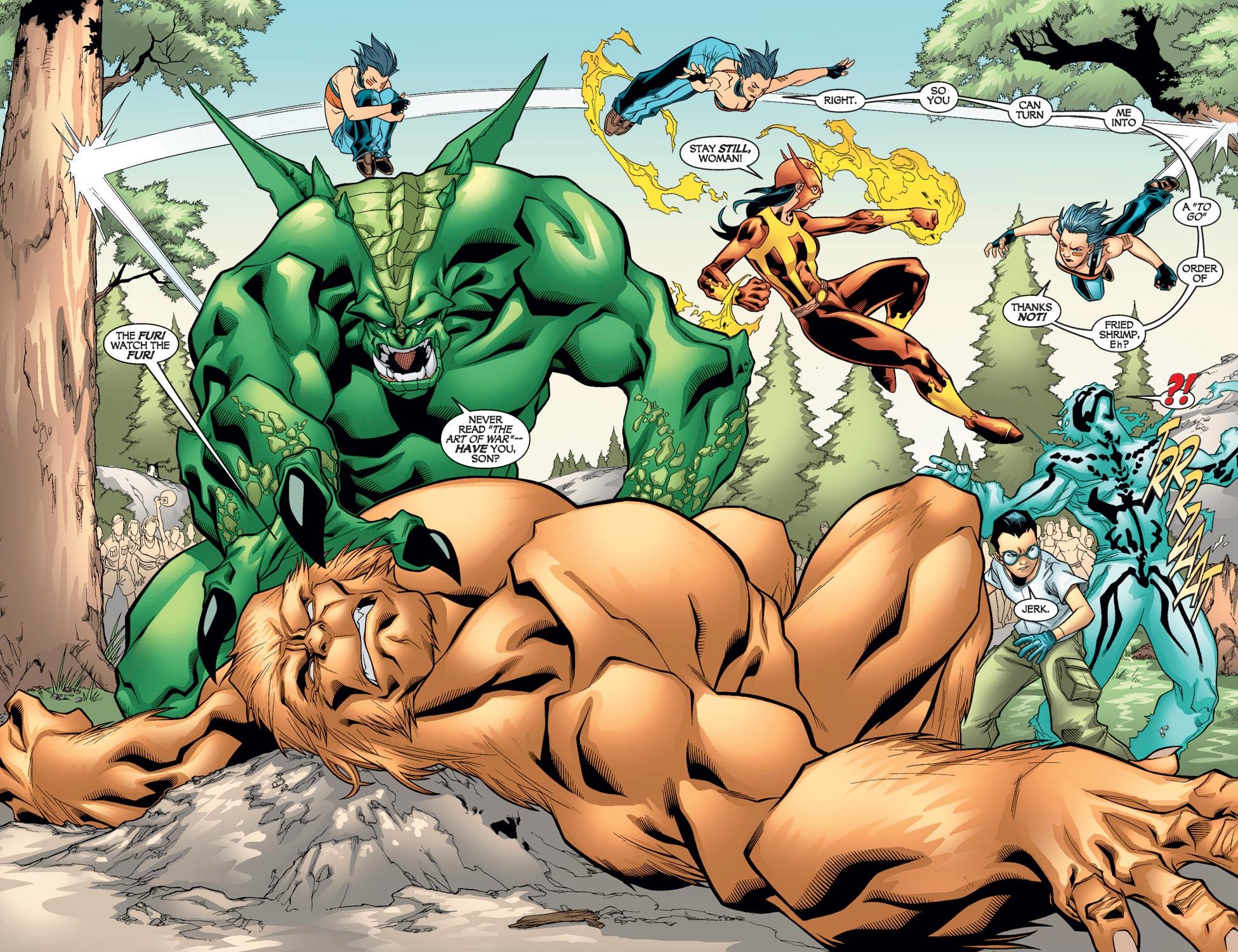 Read online Alpha Flight (2004) comic -  Issue #9 - 5