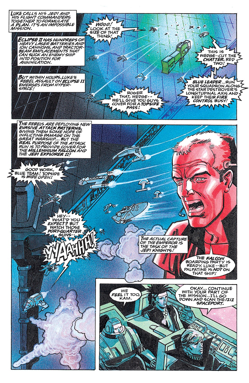 Read online Star Wars: Dark Empire Trilogy comic -  Issue # TPB (Part 4) - 43